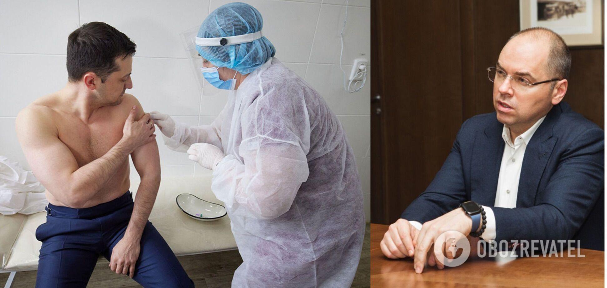 Степанов розповів про самопочуття Зеленського після вакцинації