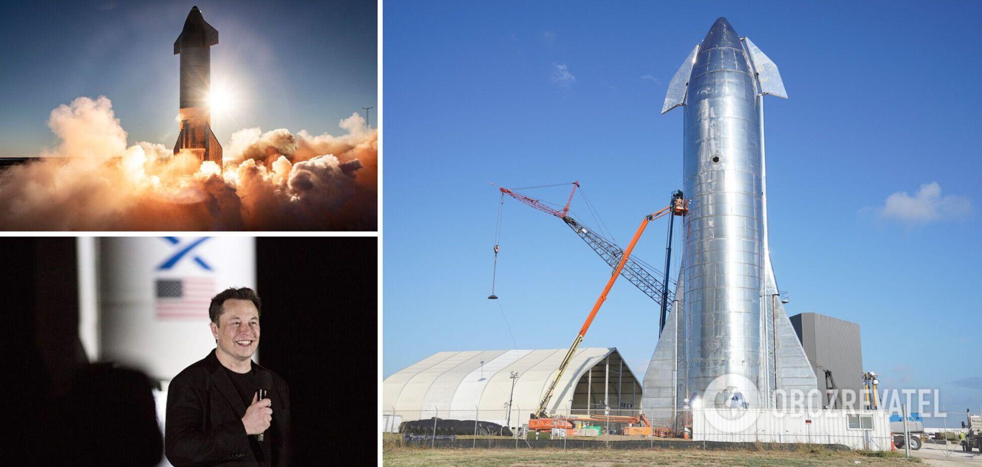 SpaceX готується до запуску міжпланетного корабля. Онлайн-трансляція