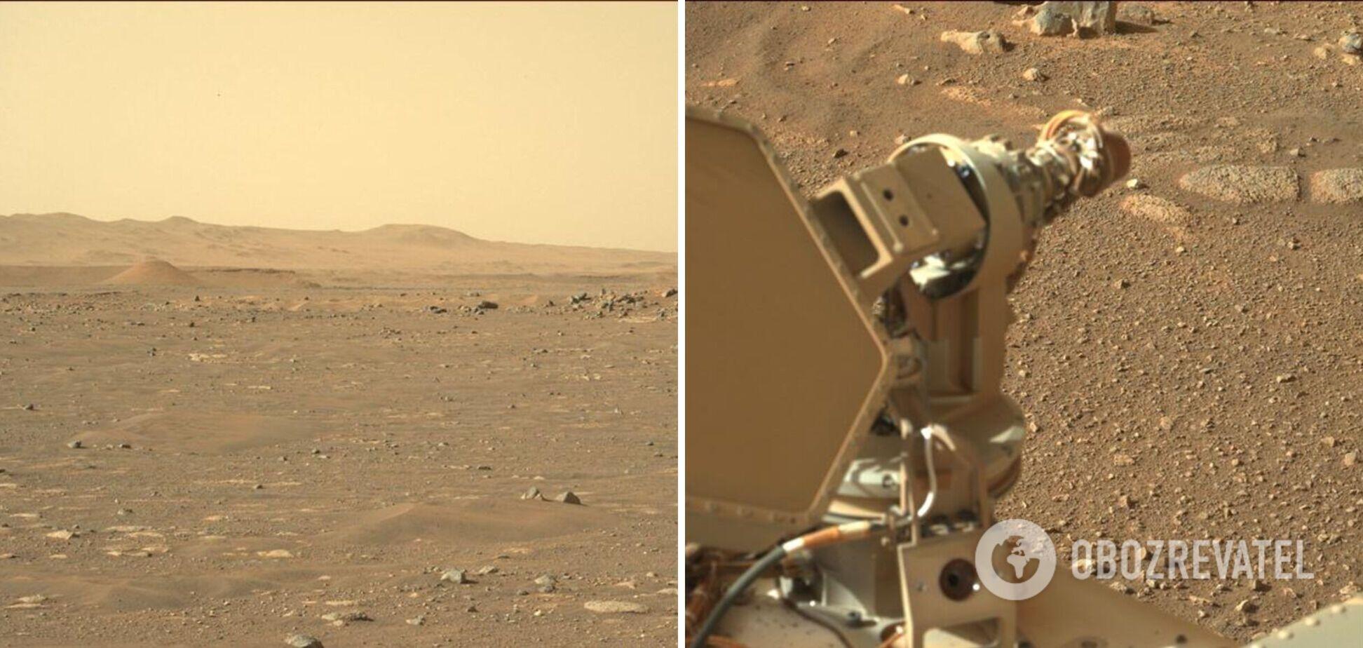 Perseverance показав, як виглядає Марс