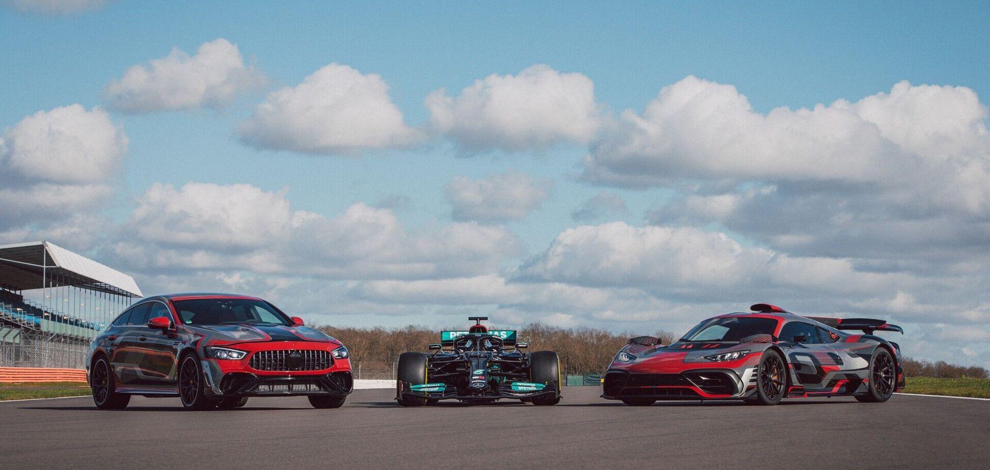 Mercedes-AMG GT 73 показали офіційно