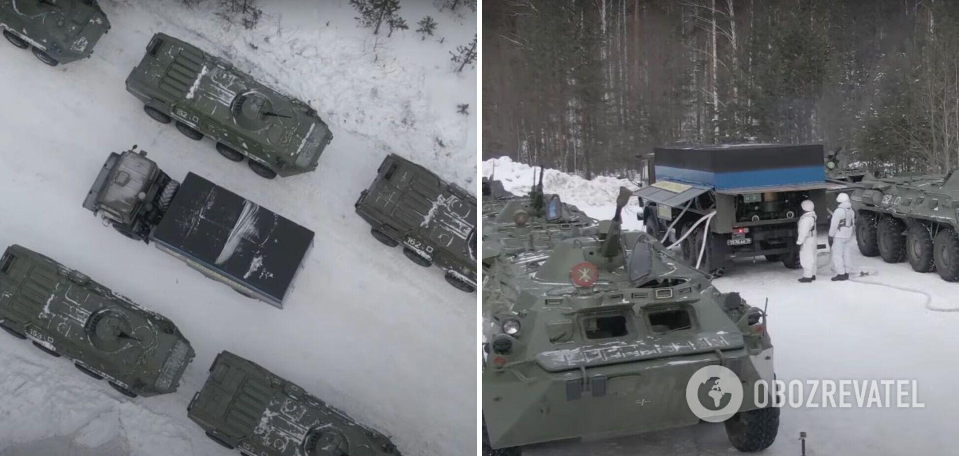 У Росії показали, як їхня армія готується коїти 'воєнні злочини'. Фото і відео