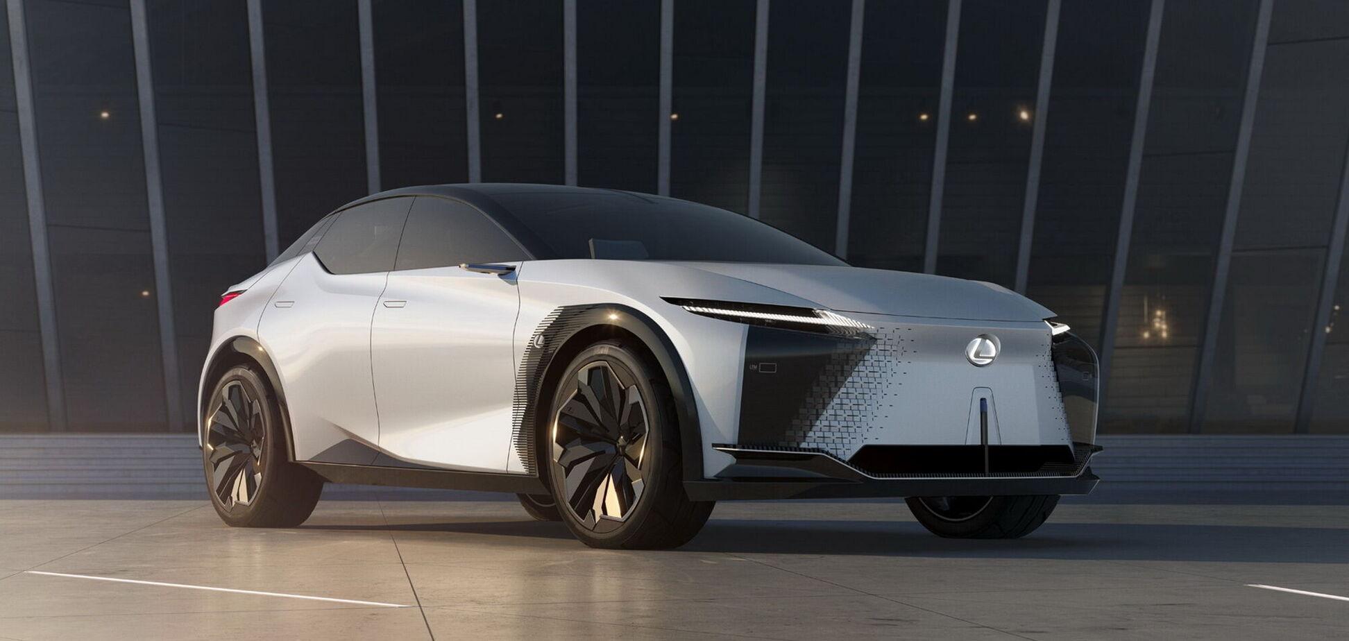 Lexus показав стильний концепт LF-Z Electrified