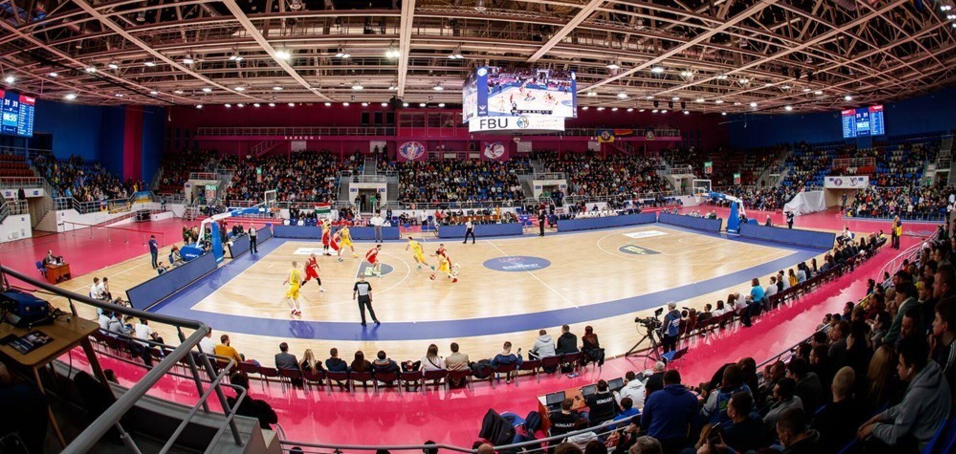 Баскетбольний матч в Україні