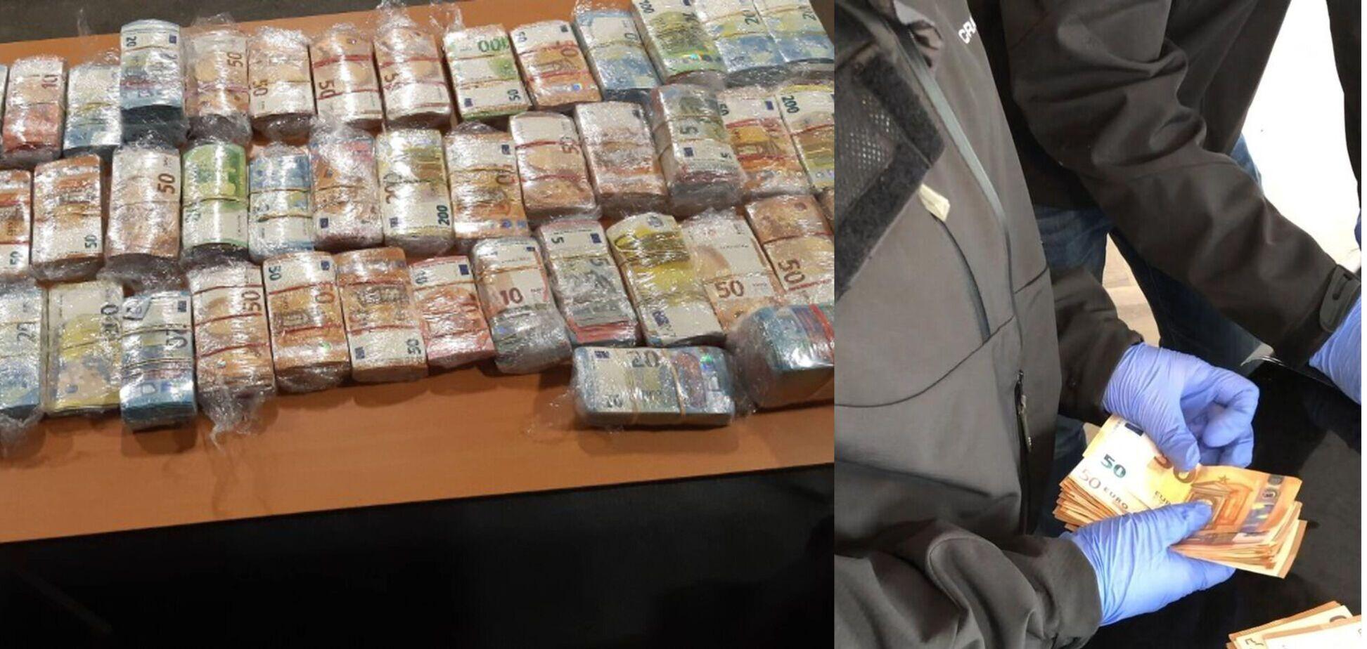 У Нідерландах затримали українця з величезною сумою готівки
