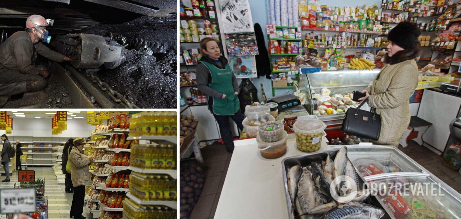 'Довелося покласти зуби на полицю': в 'ДНР' різко виросли ціни, а необхідні продукти зникли з магазинів