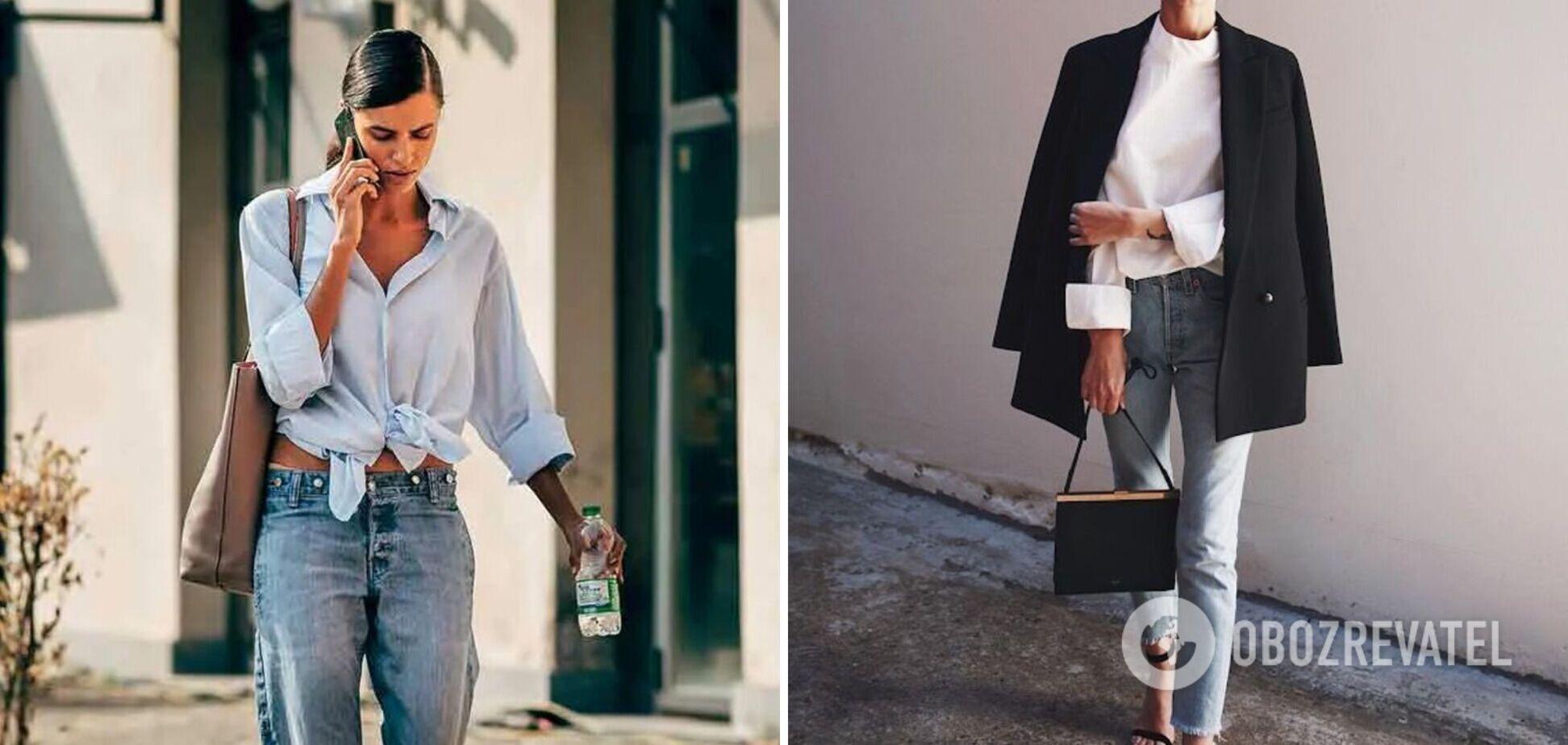Модницы часто заимствуют вещи у своих парней