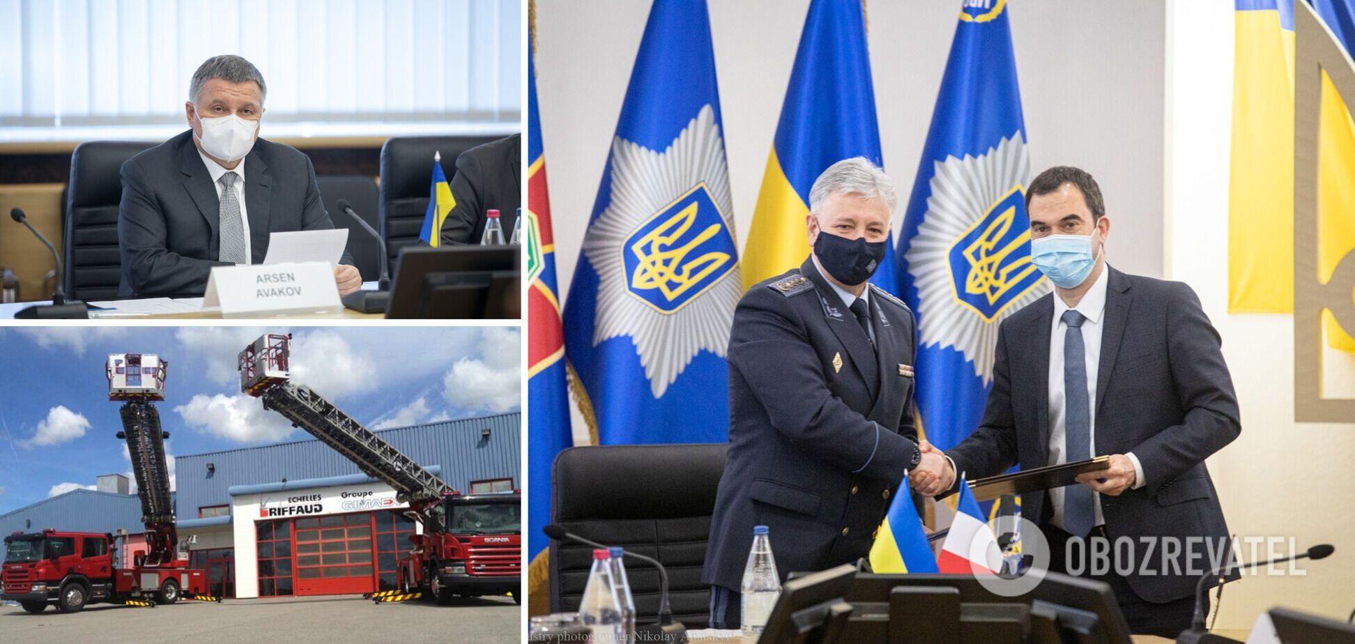 Україна спільно з Францією вироблятиме рятувальну техніку: Аваков розповів про угоду