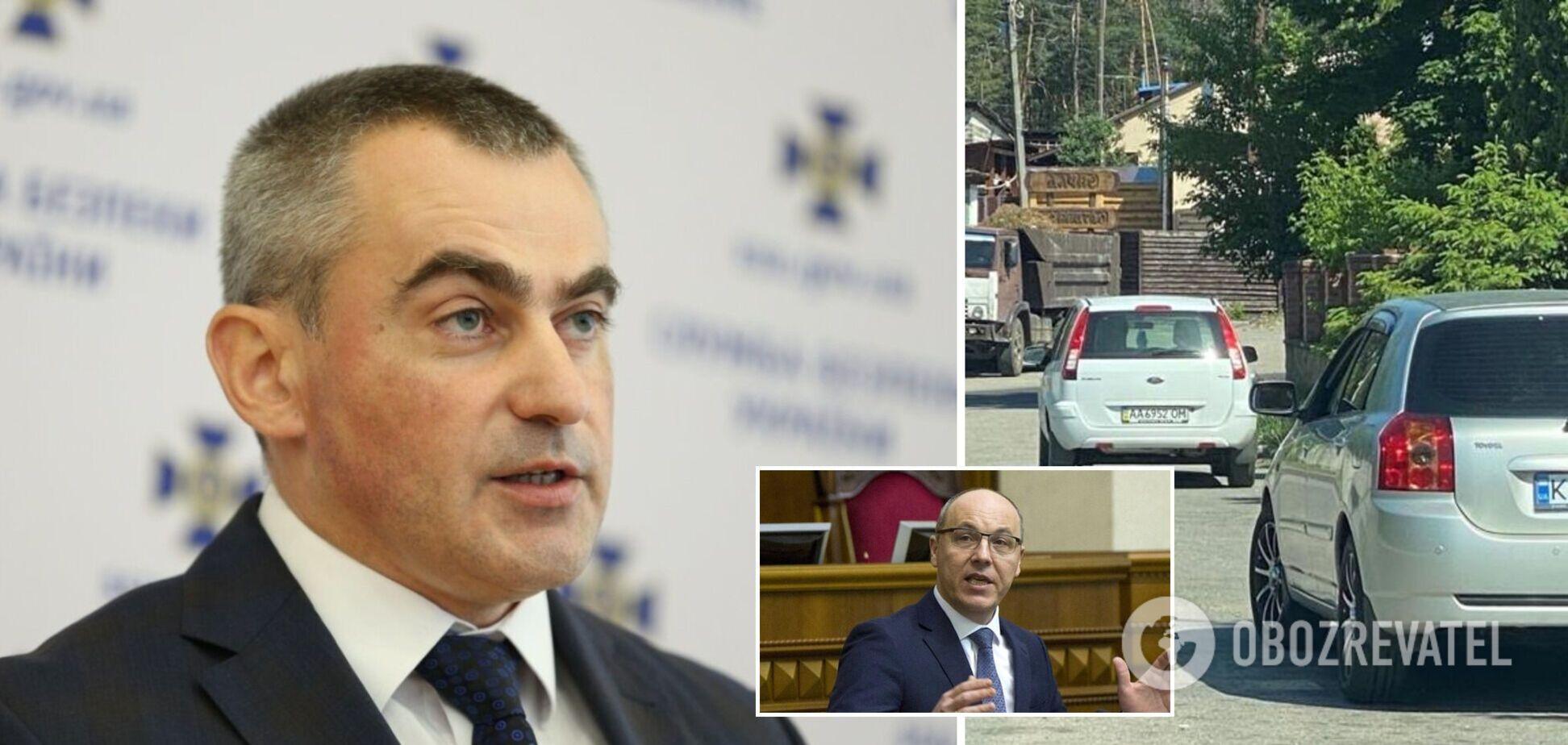 Парубій заявив про стеження загенералом СБУта депутатом Київради Кононенком