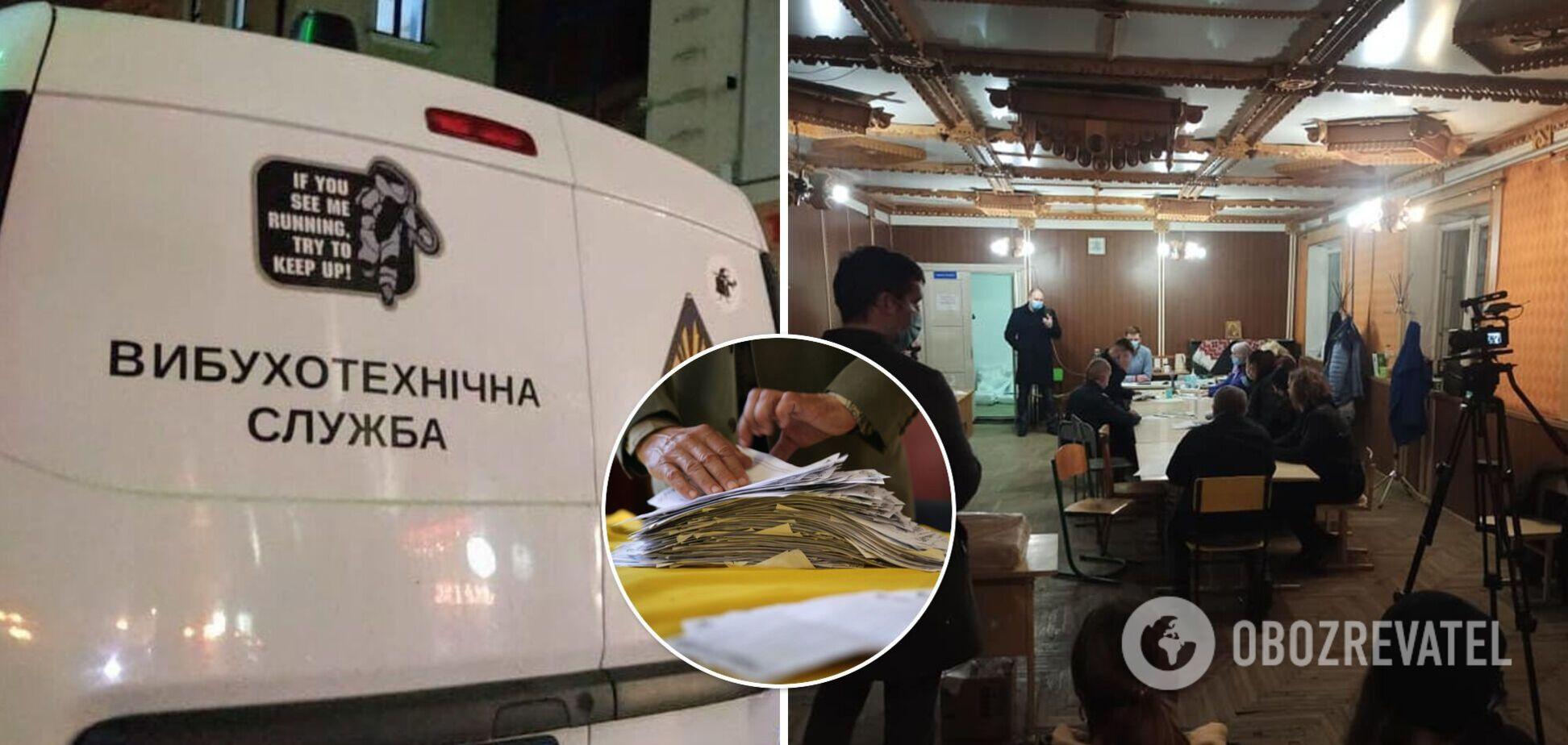 На Прикарпатті вночі 'мінували' виборчу дільницю в окрузі, де лідирує Вірастюк