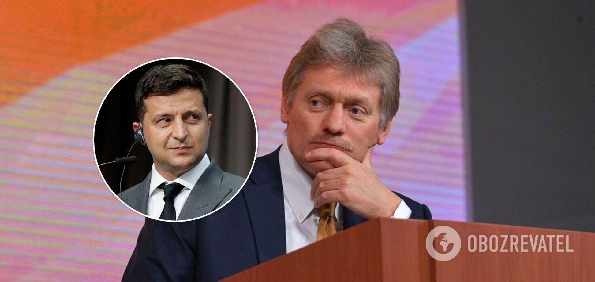 В Кремле пожаловались, что при Зеленском по Минским договоренностям не удалось продвинуться 'ни на йоту'