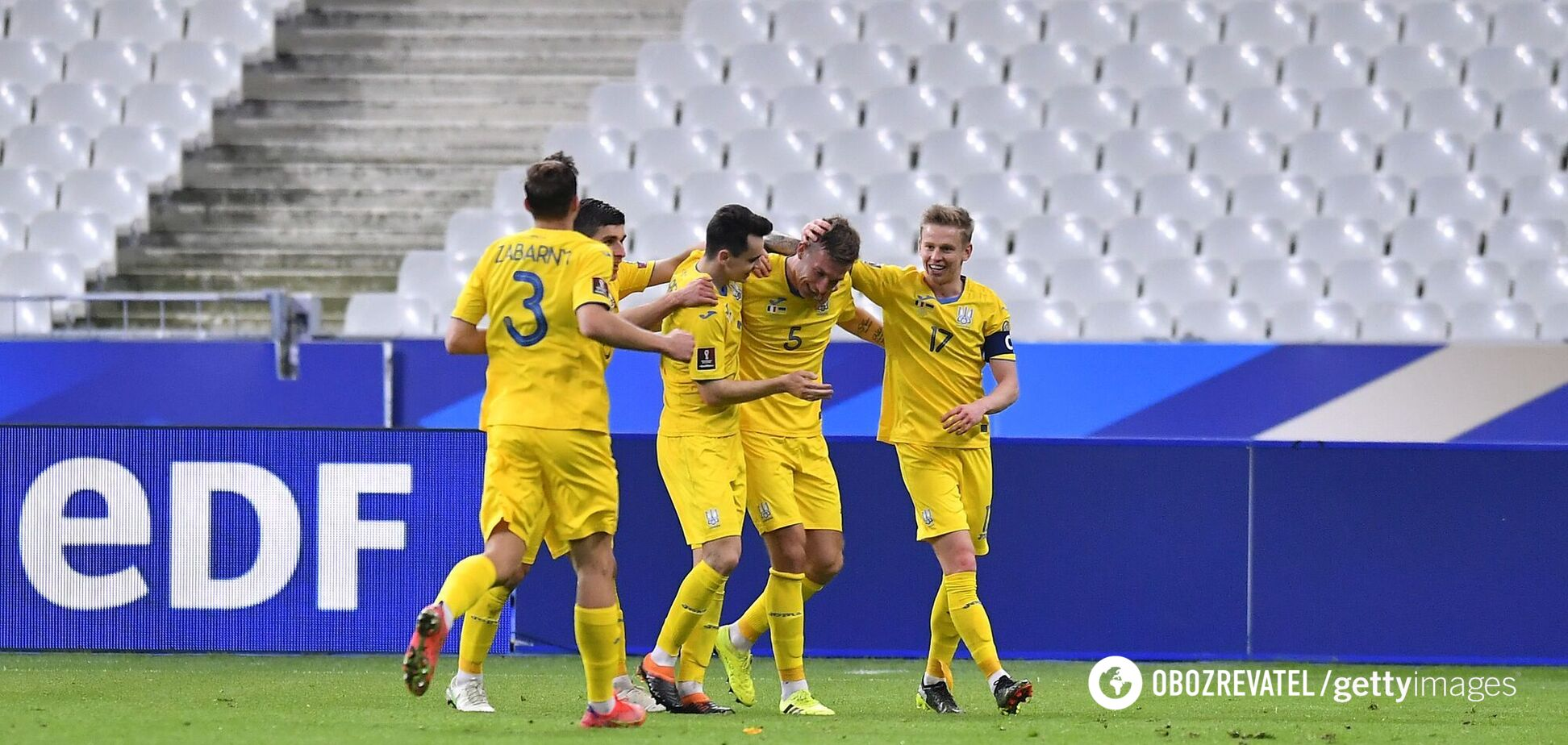 Шок у Києві! Україна – Казахстан – 1-1: дивитися онлайн матчу відбору ЧС-2022