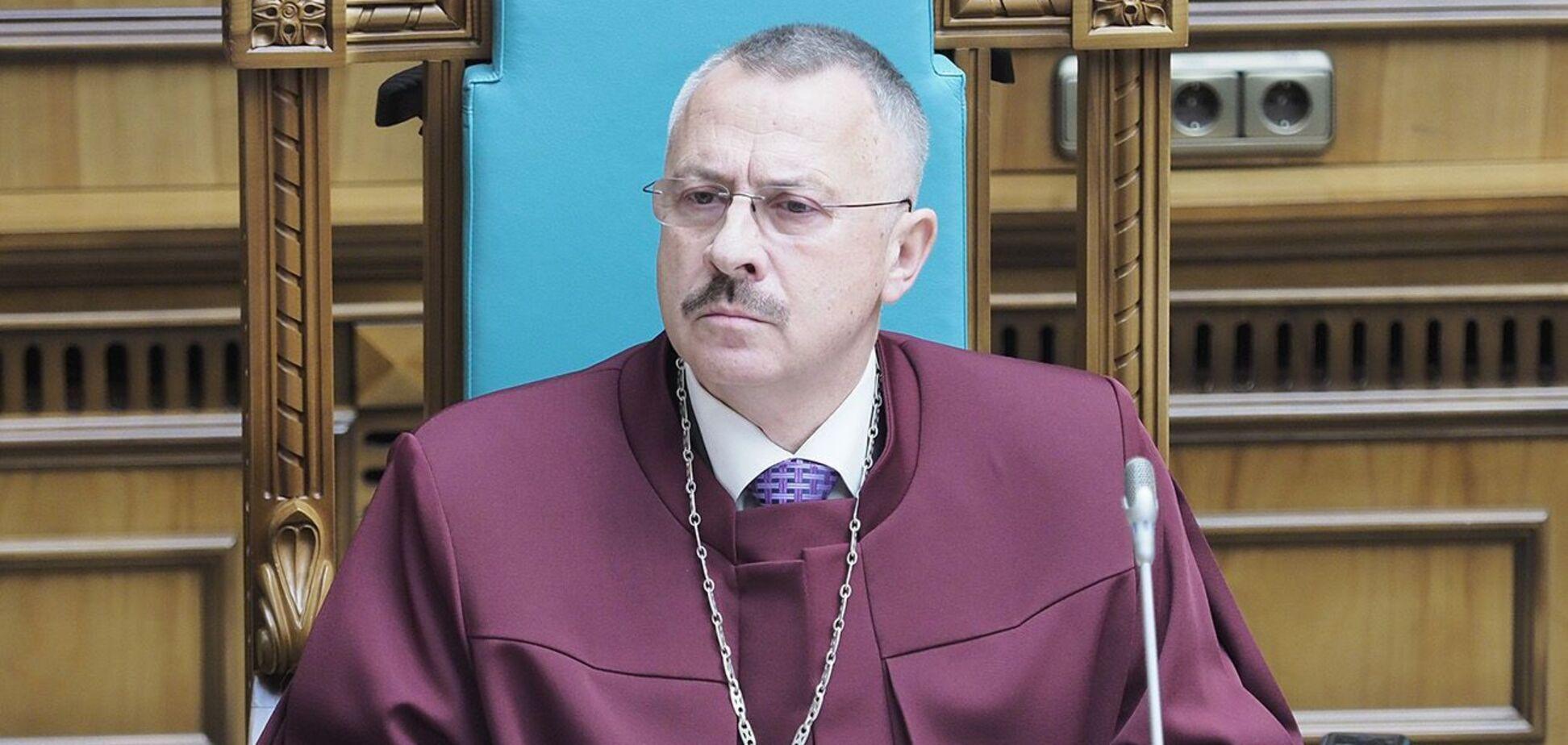 Заступник голови КСУ Головатий задекларував православний храм