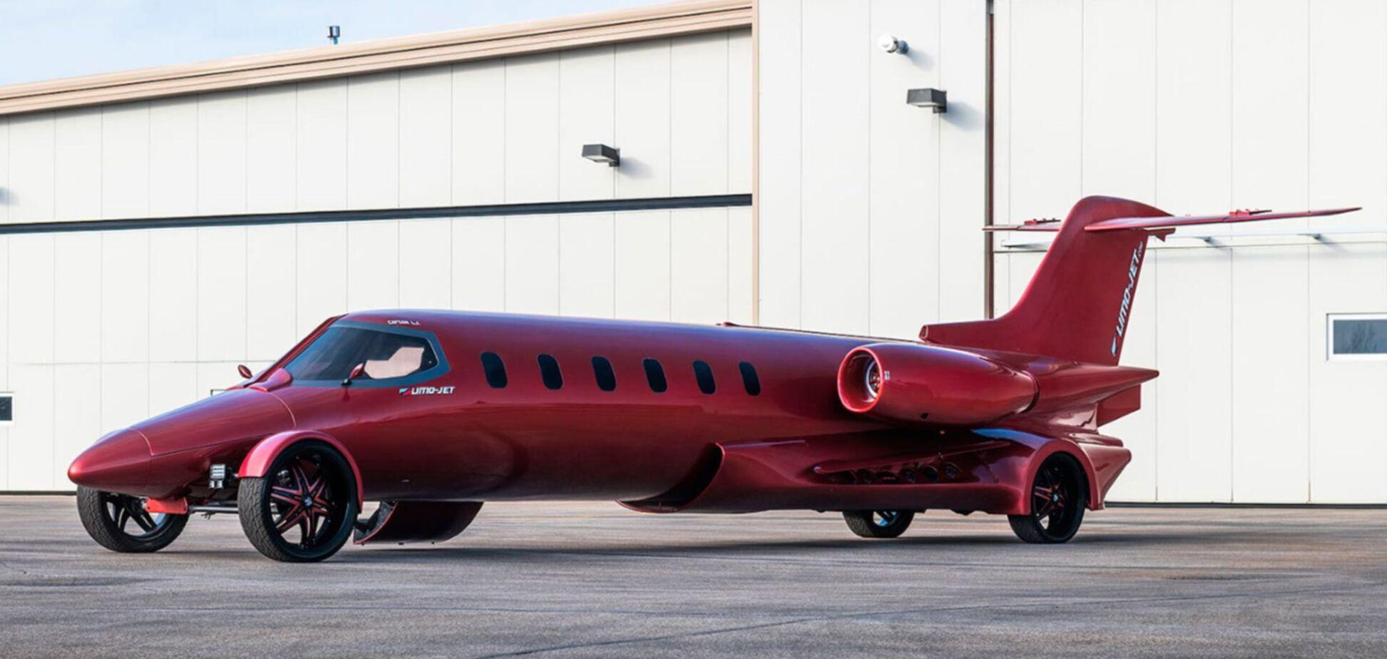 На аукционвыставили гибрид самолета и лимузина