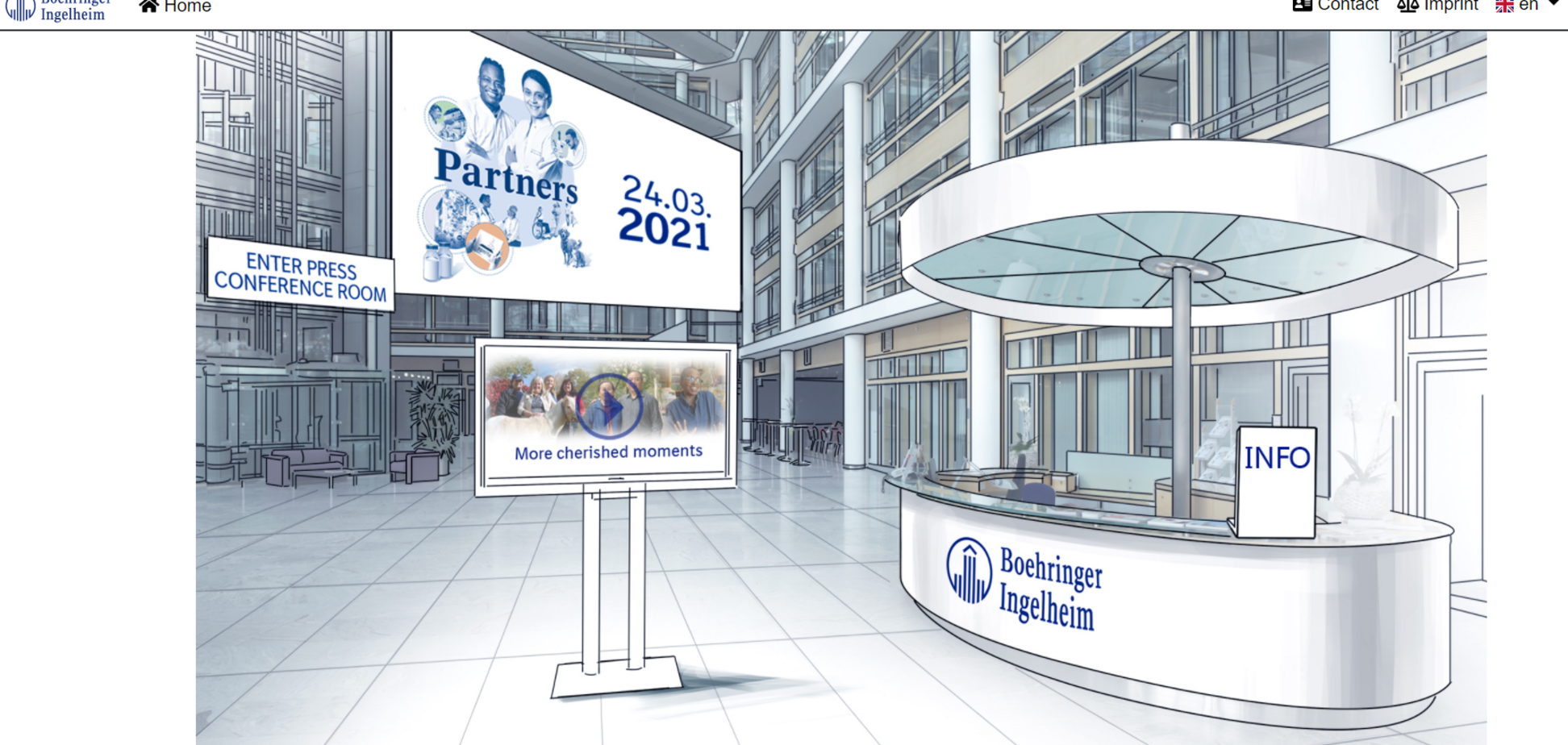 Компанія 'Берінгер Інгельхайм' значно збільшила свої інвестиції у пошуках інноваційних ліків та методів лікування захворювань