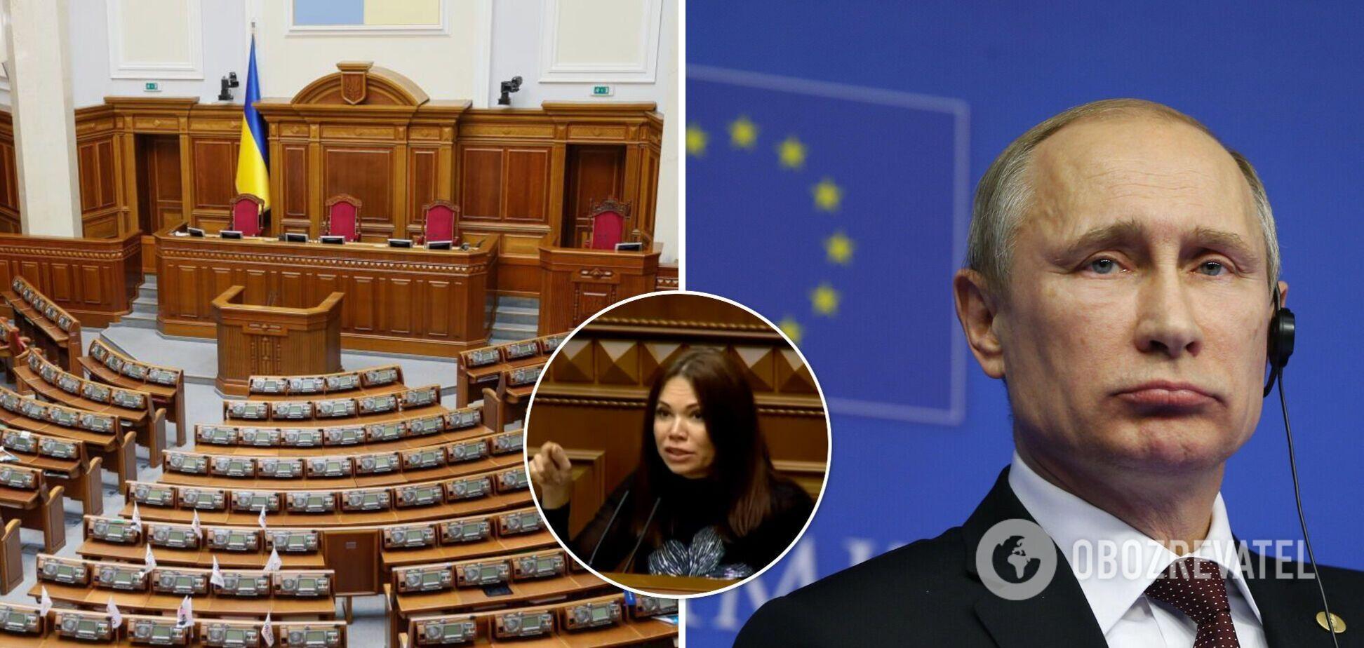 Вікторія Сюмар повторила популярне нецензурне висловлювання про главу РФ