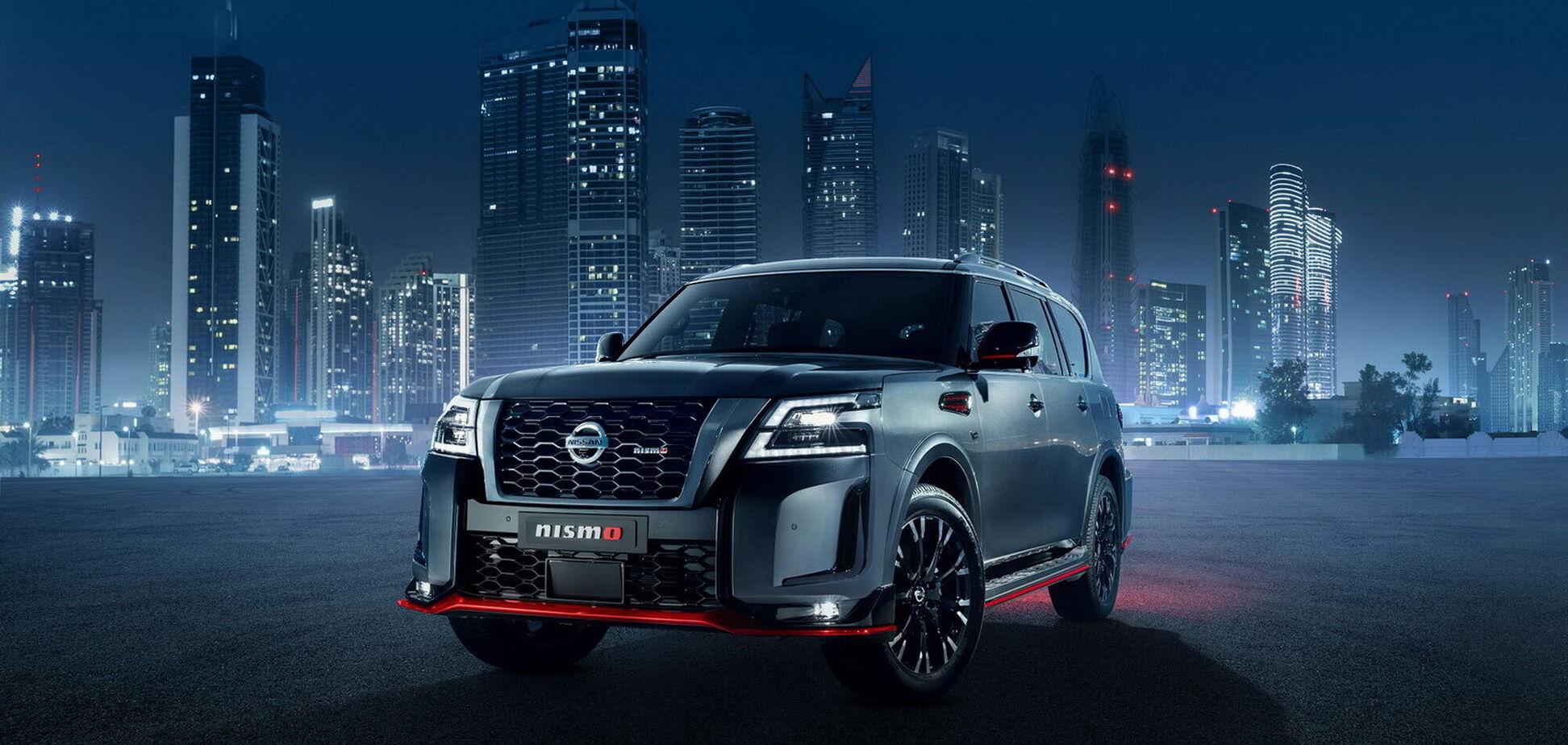Nissan показав 'прокачаний' позашляховик Patrol Nismo