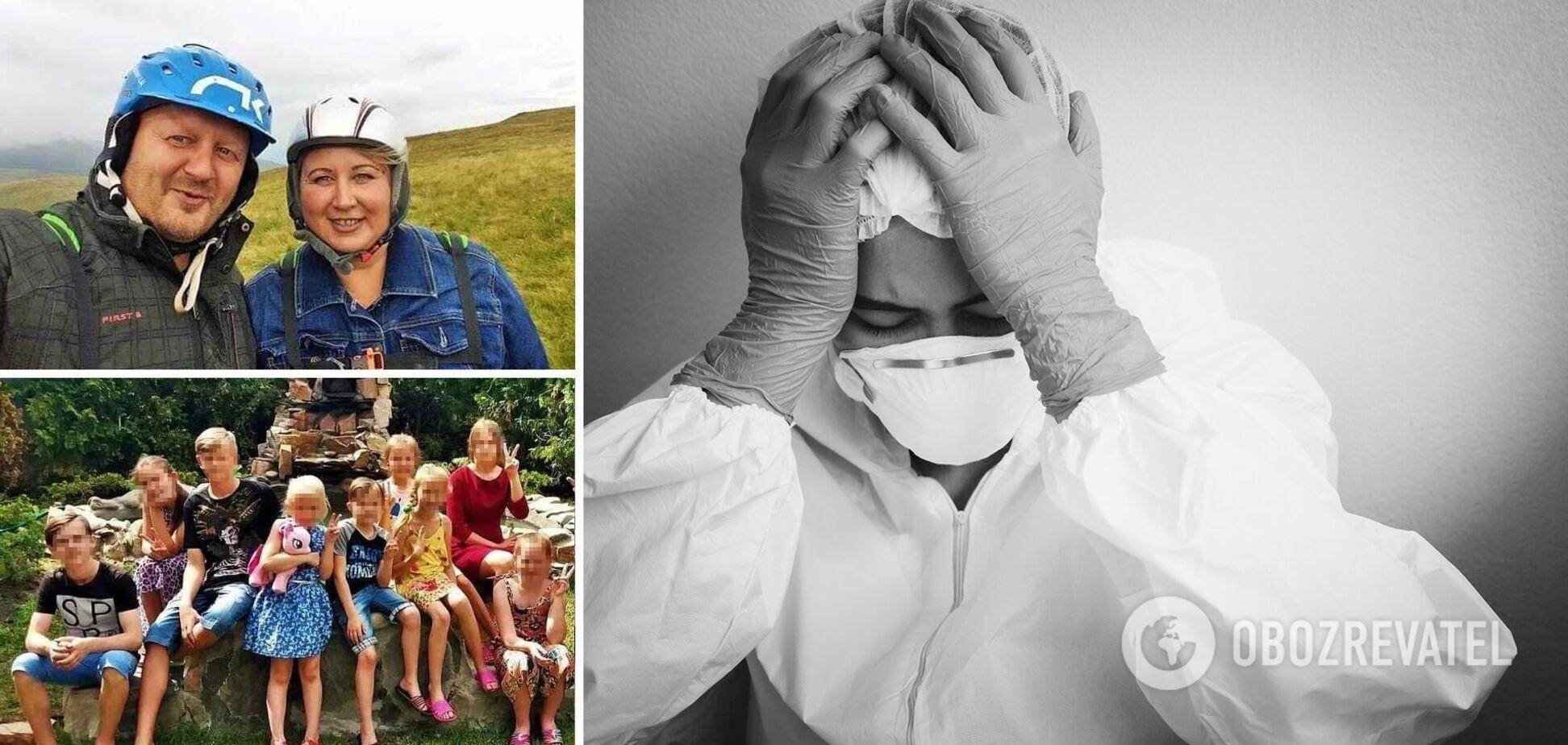 На Київщині від коронавірусу померли дружина з чоловіком, вони виховували 13 дітей: подробиці трагедії