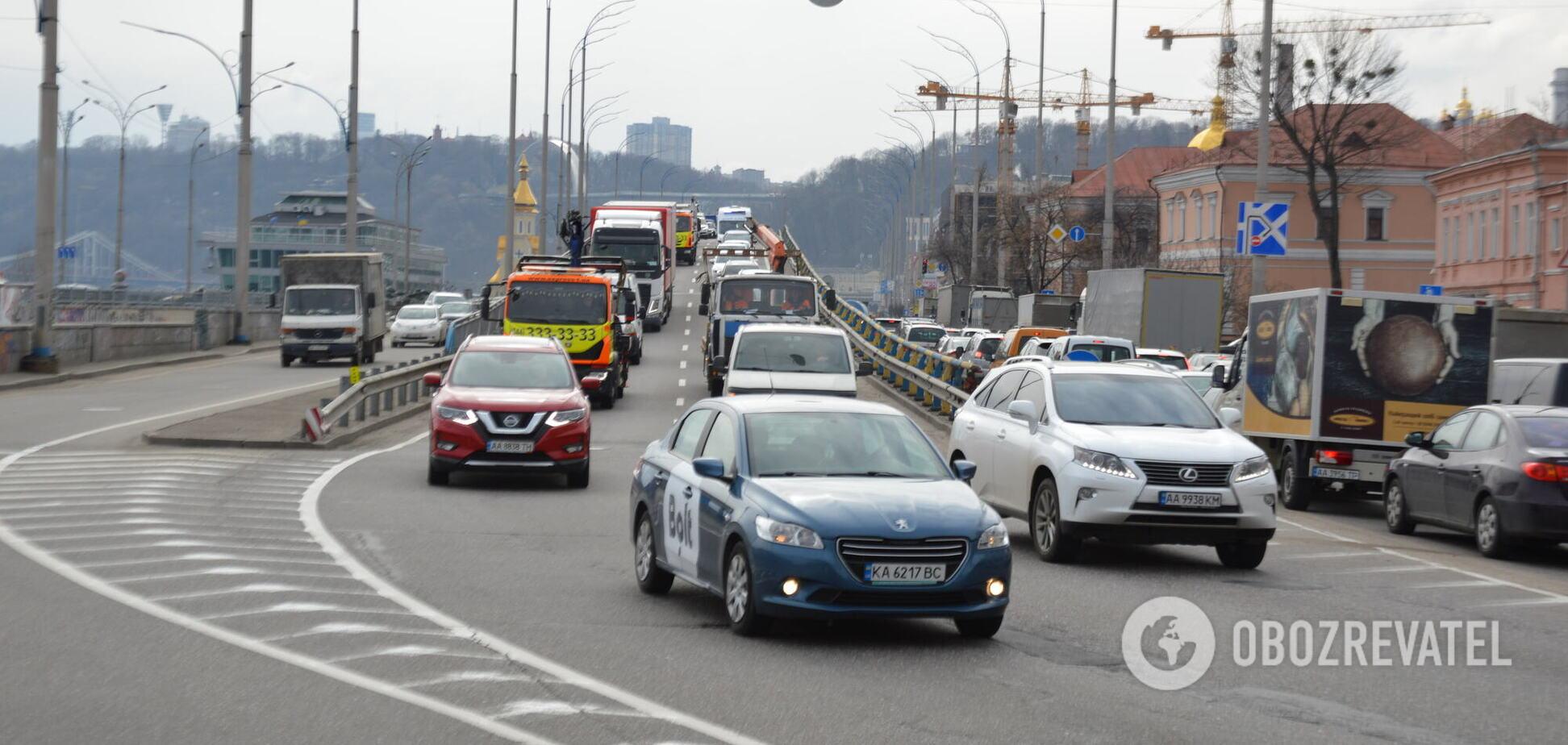 У столиці фіксують високий рівень аварійності