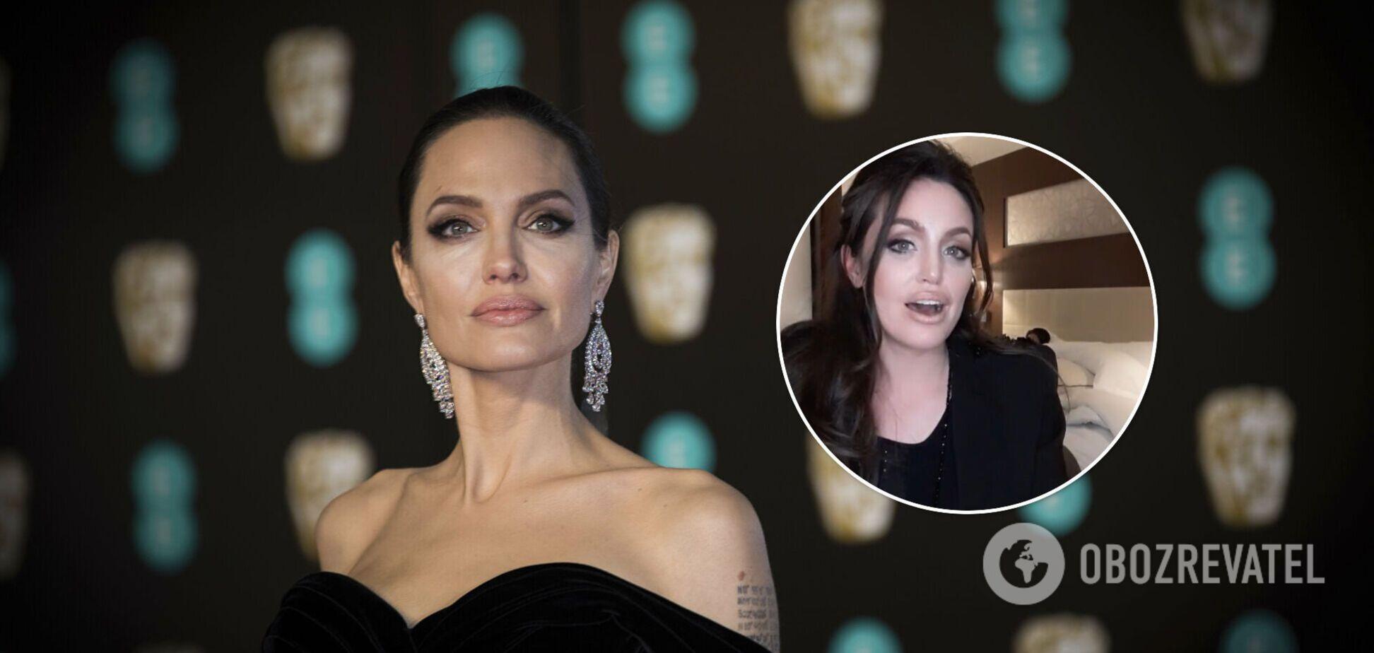 В сети нашли клона Анджелины Джоли: запутался бы даже Брэд Питт