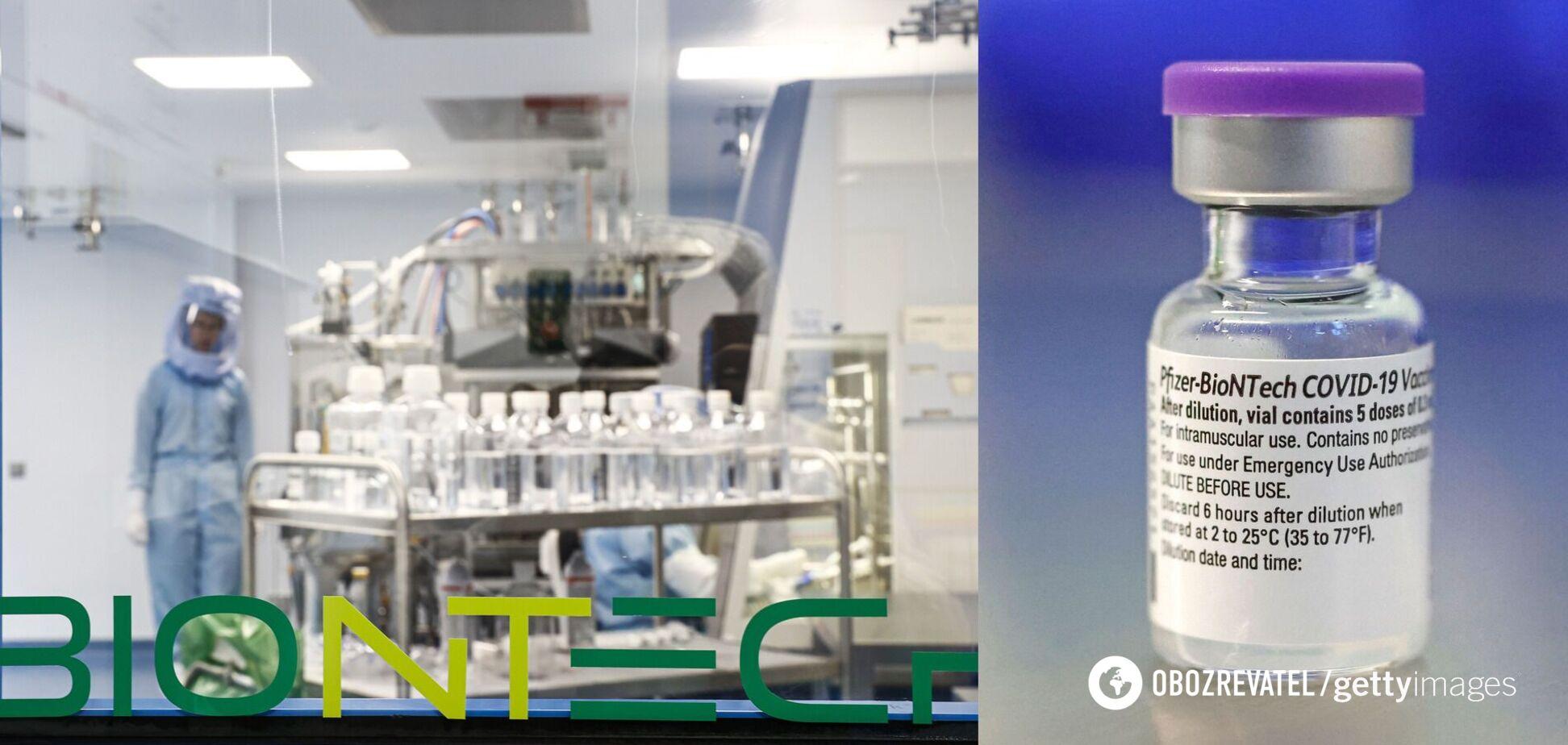 У Pfizer розробили 'суху' версію вакцини проти коронавірусу