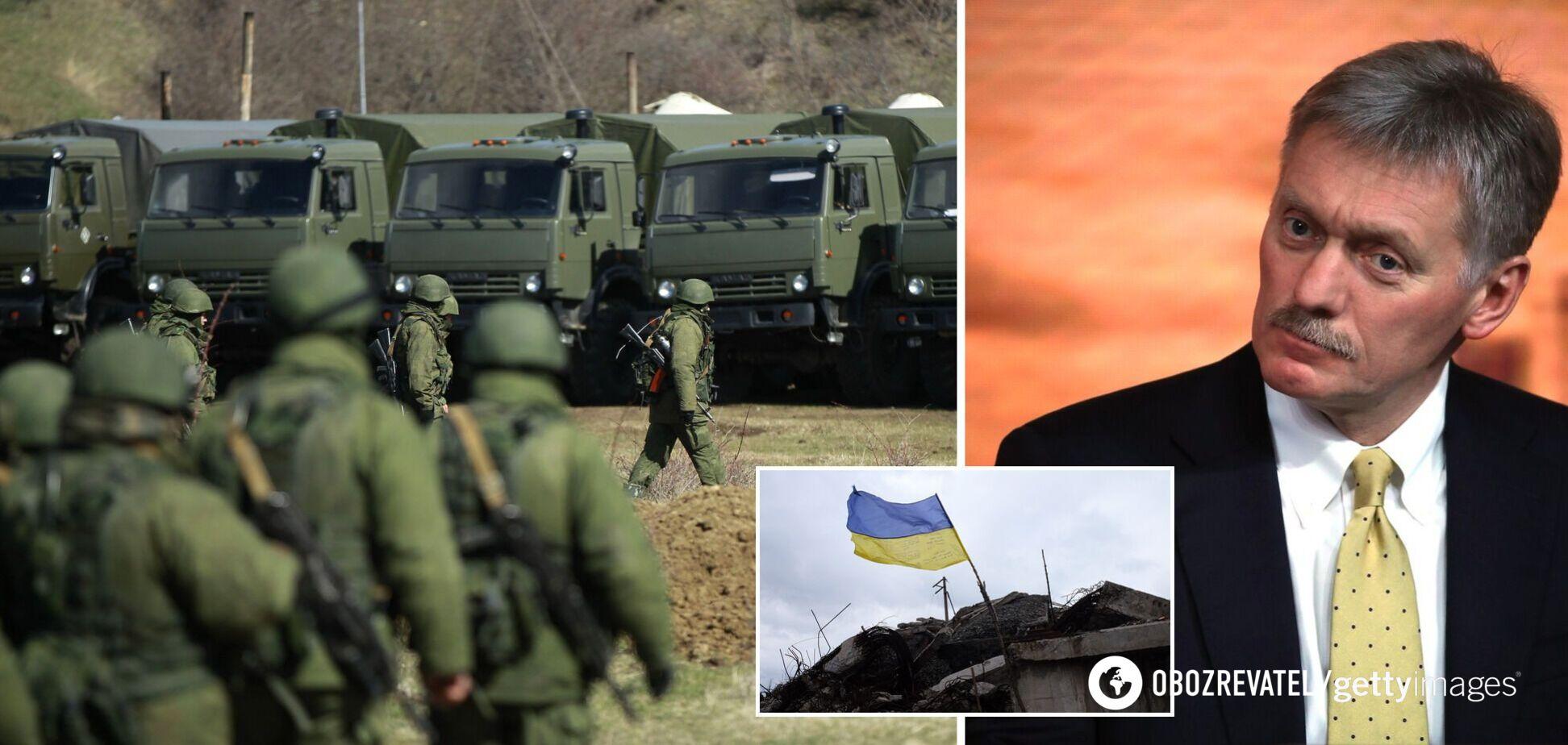 У Путина выдали, что боятся 'возобновления войны' на Донбассе