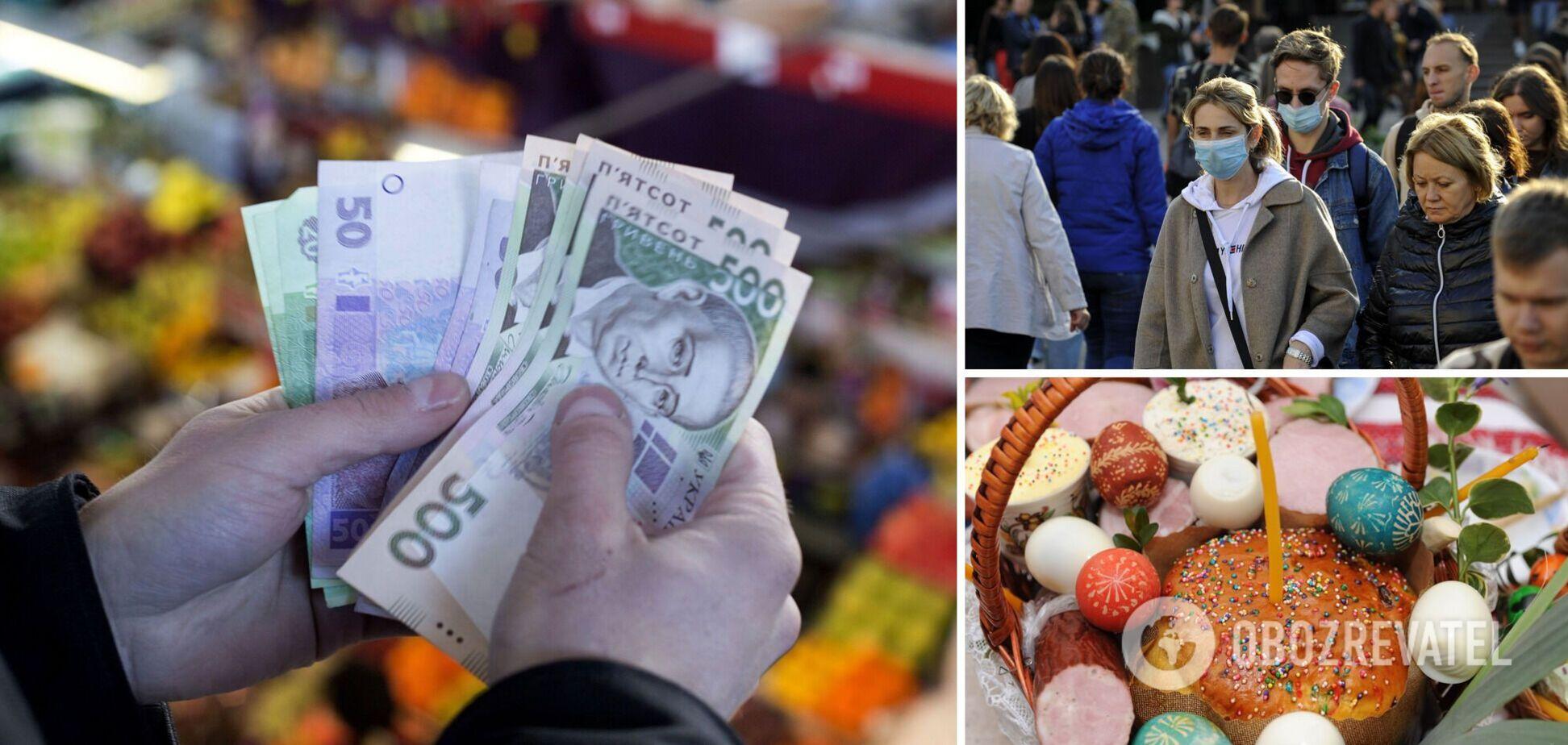 Великодній кошик подорожчав на 25%: яку суму витратять українці