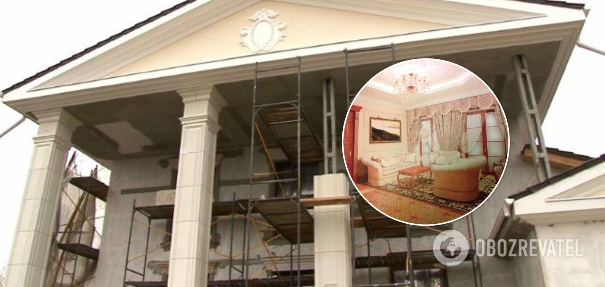 Как выглядит дворец 'любовницы' Януковича в Новых Петровцах