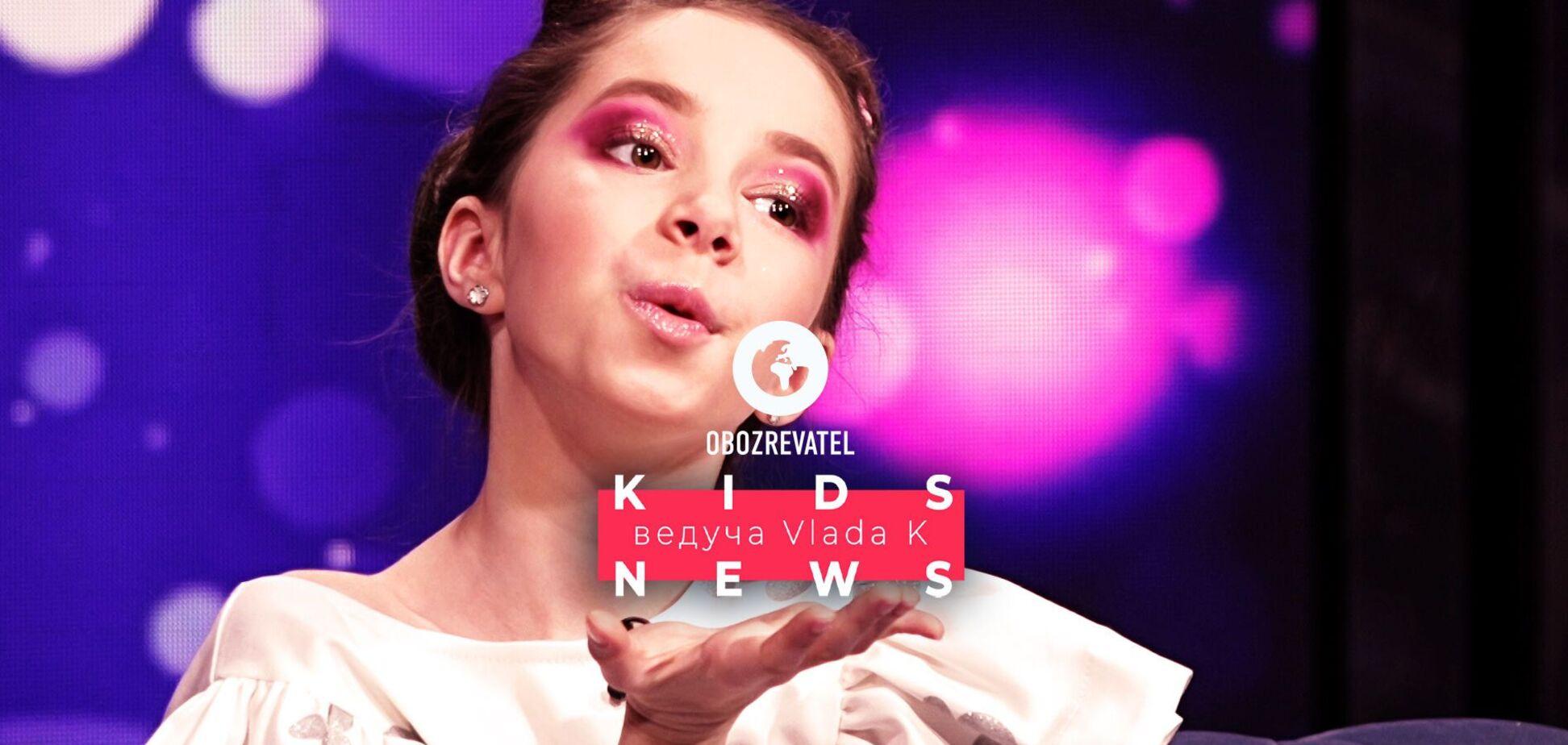 Секрет красивої фігури Мішель Андраде розкрито в KIDS NEWS з Vlada K!