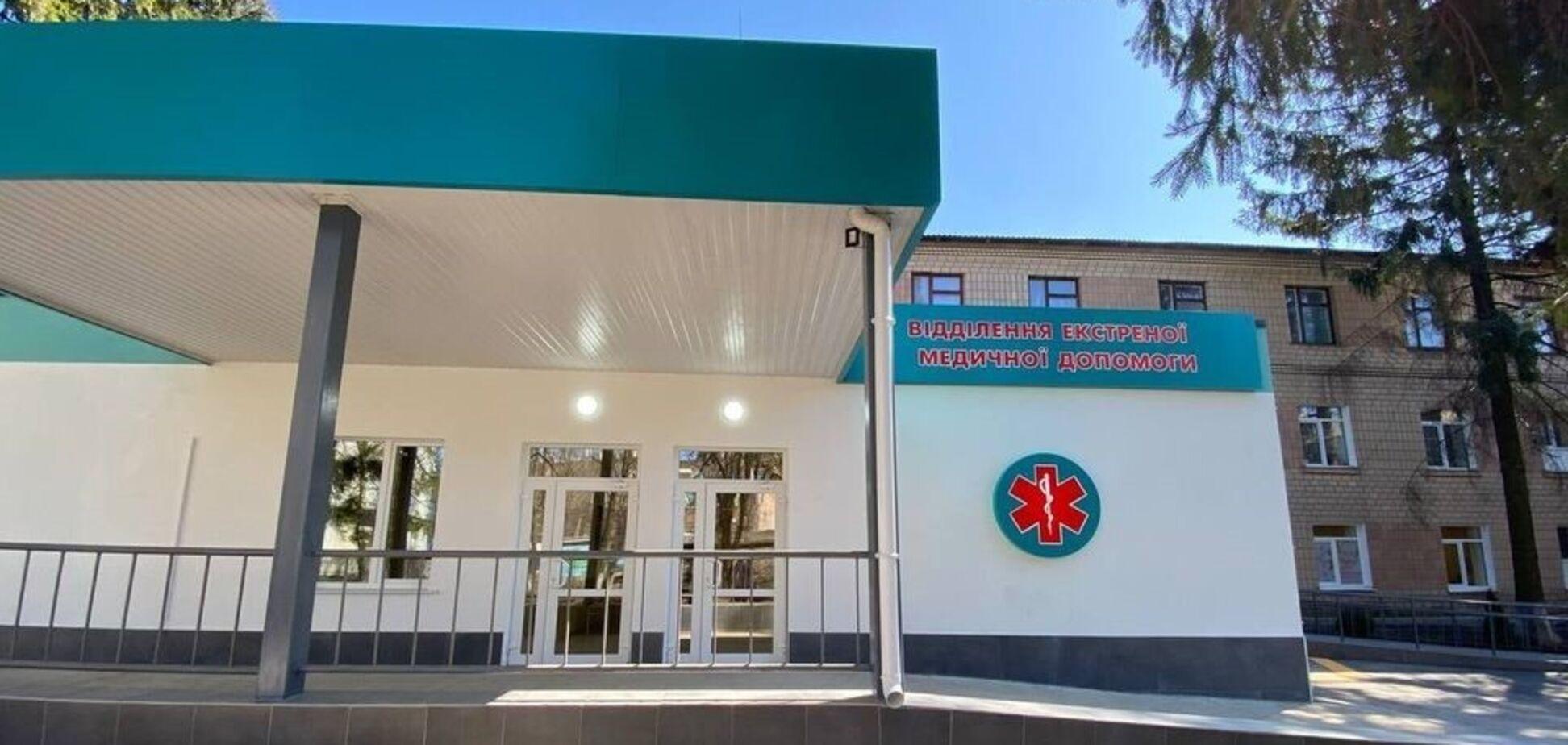Кіровоградщина здала перше відділення екстреної меддопомоги у межах 'Великого будівництва'
