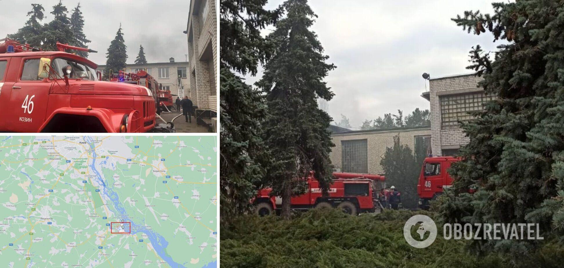 Под Киевом из горящего детского сада эвакуировали 150 детей и взрослых. Фото и видео ЧП