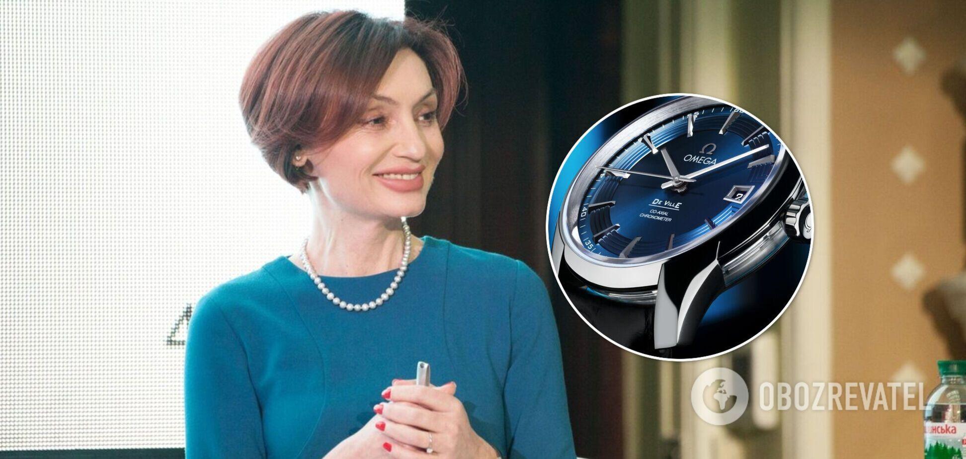 Рожкова указала в декларации часов почти на 7 млн грн