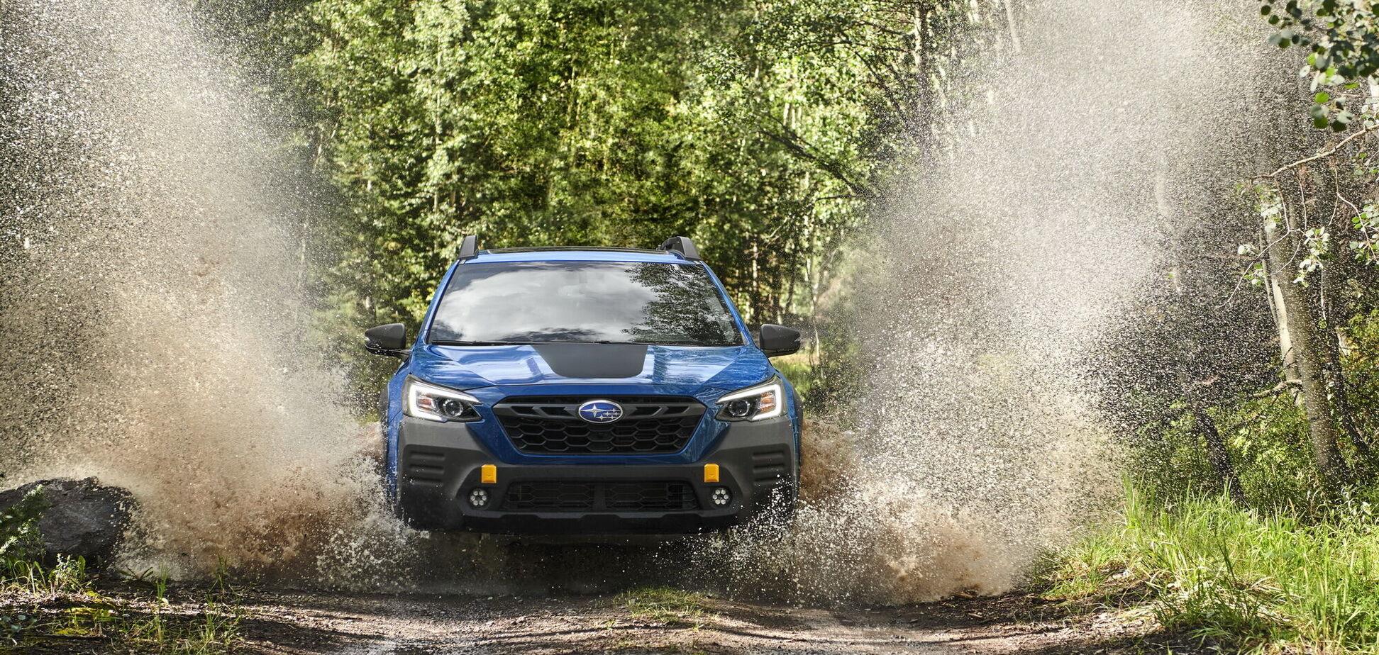 Subaru показал самый 'внедорожный' Outback