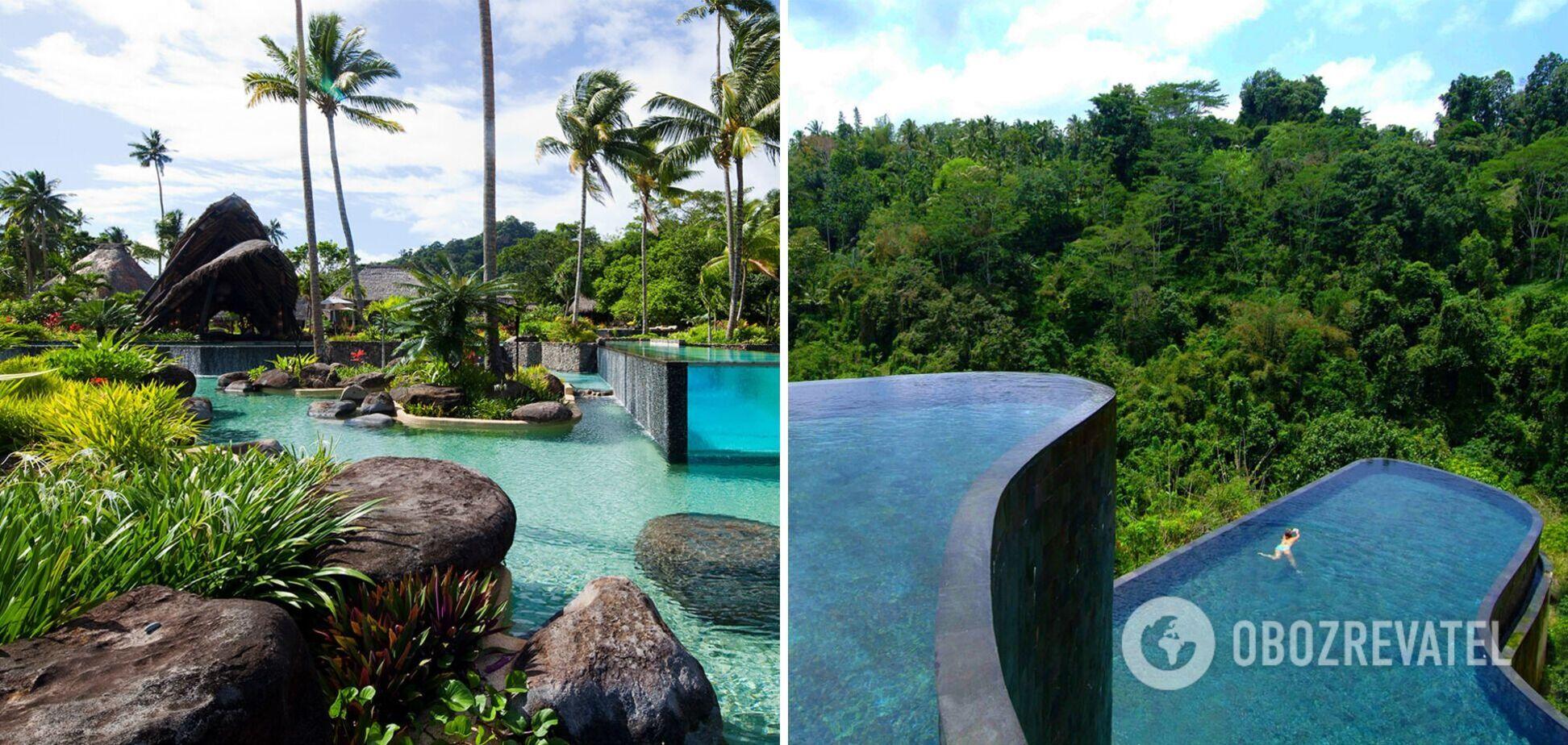 Казкові басейни приваблюють туристів