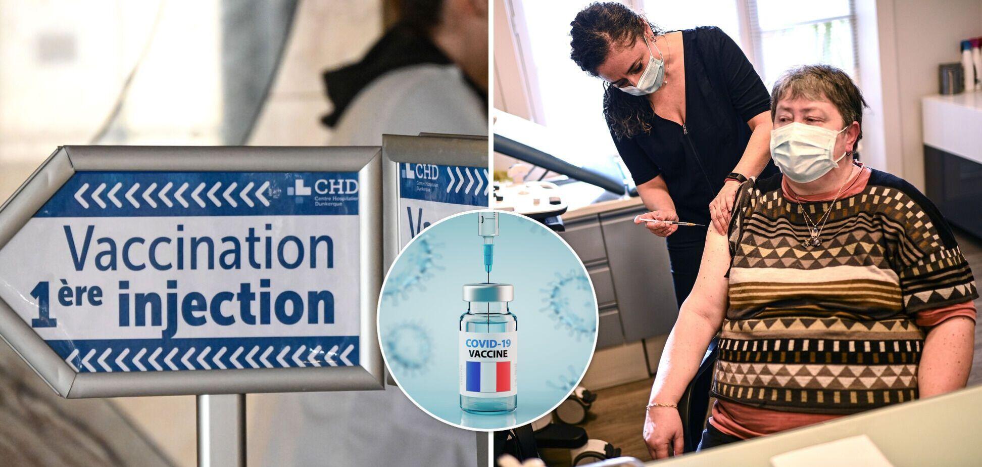Украинка о вакцинации от COVID-19 во Франции: пока процесс идет слабо