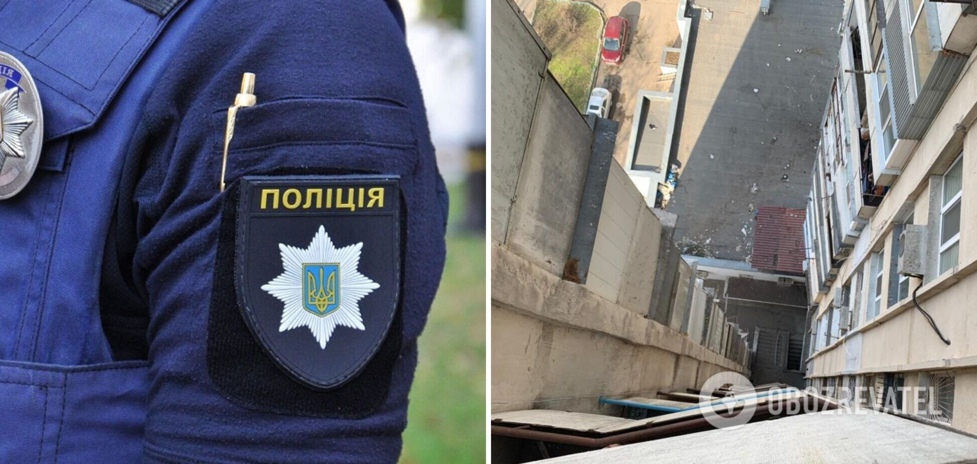 В Одесі 18-річний хлопець викинувся з балкона 15-го поверху. Фото