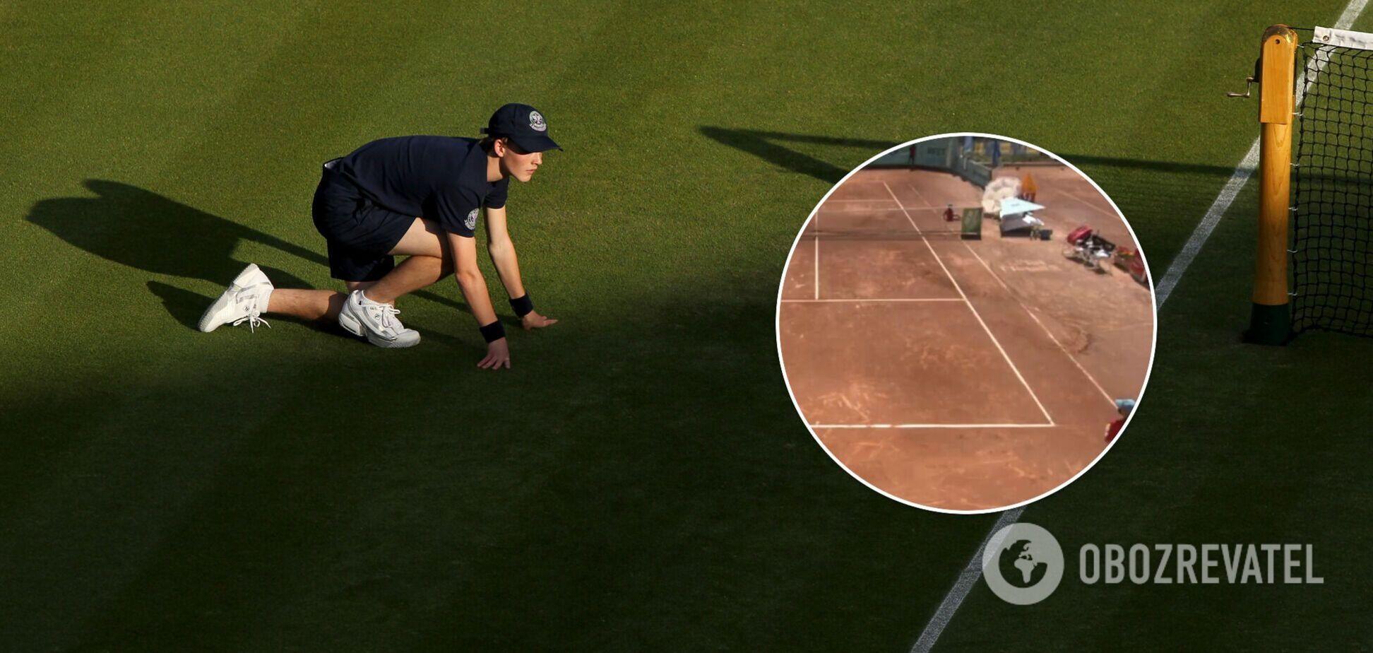 Болбой на теннисе