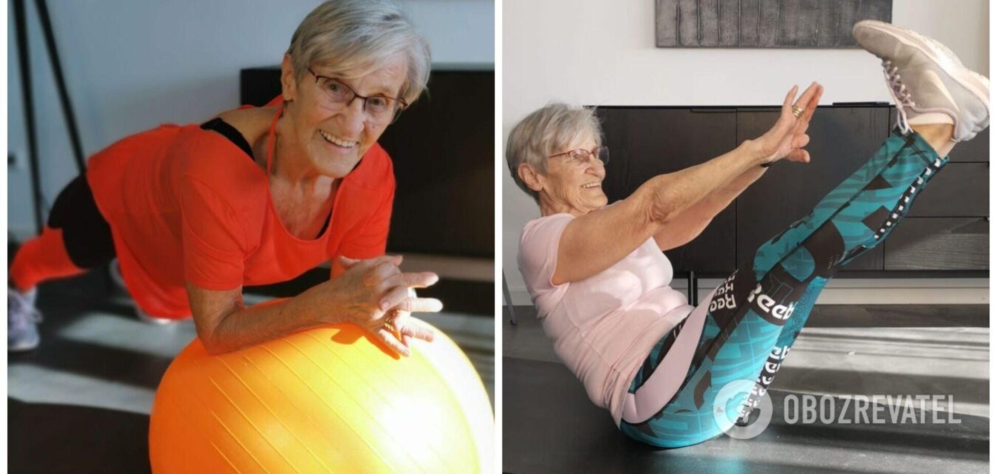 81-летняя фитнес-модель покорила TikTok. Видео