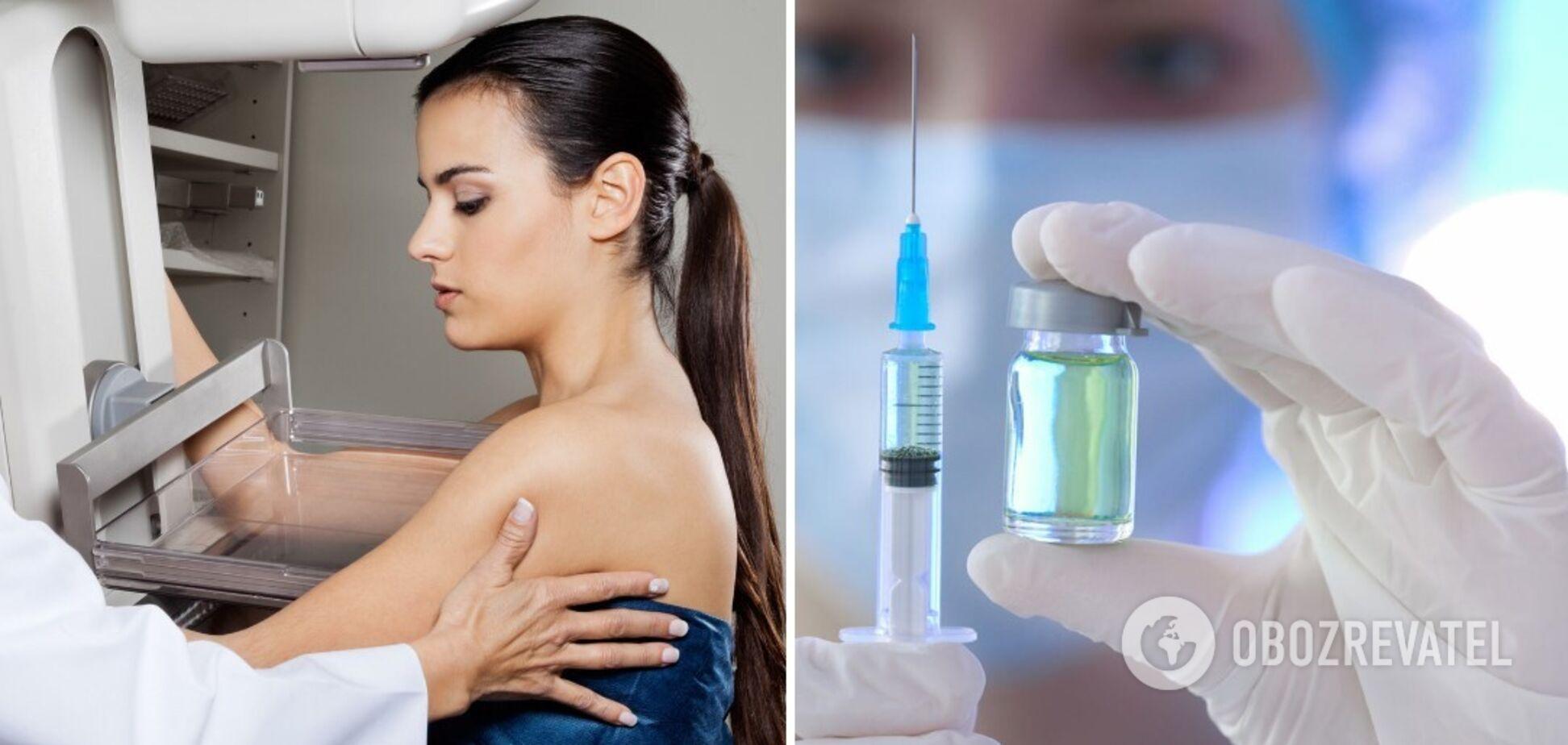 Жінкам варто уникати мамографії протягом чотирьох тижнів після щеплення від коронавірусу