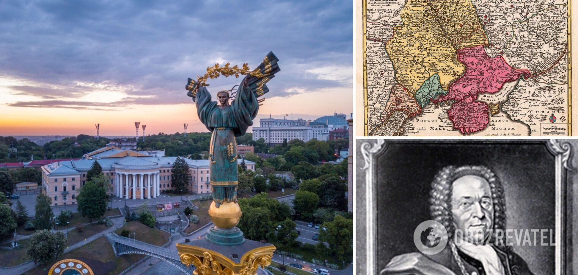 Украина на картах