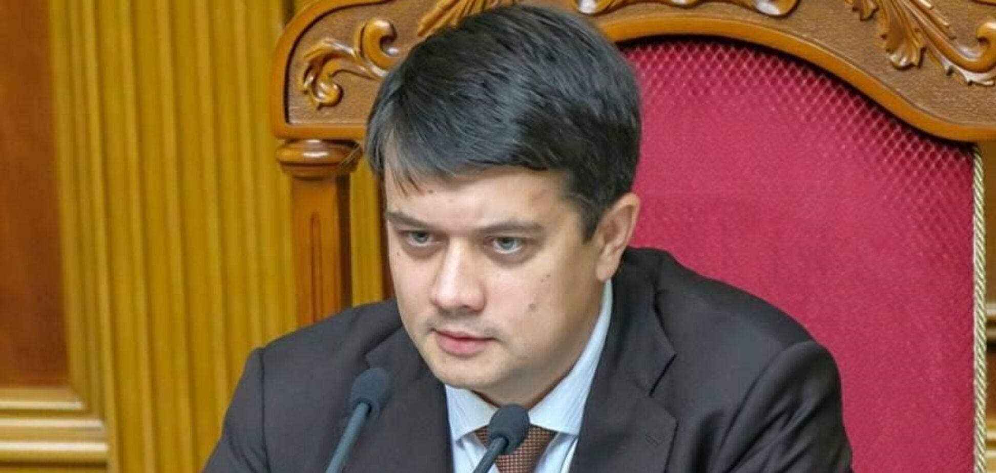 Разумков посилює вплив на парламент і Кабмін