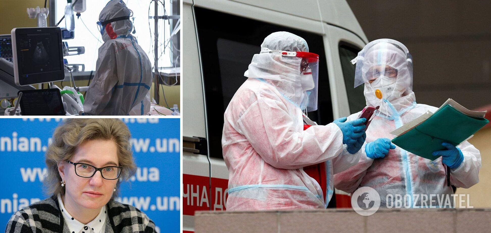 Эпидемия коронавируса в Украине усилится, спад возможен только летом