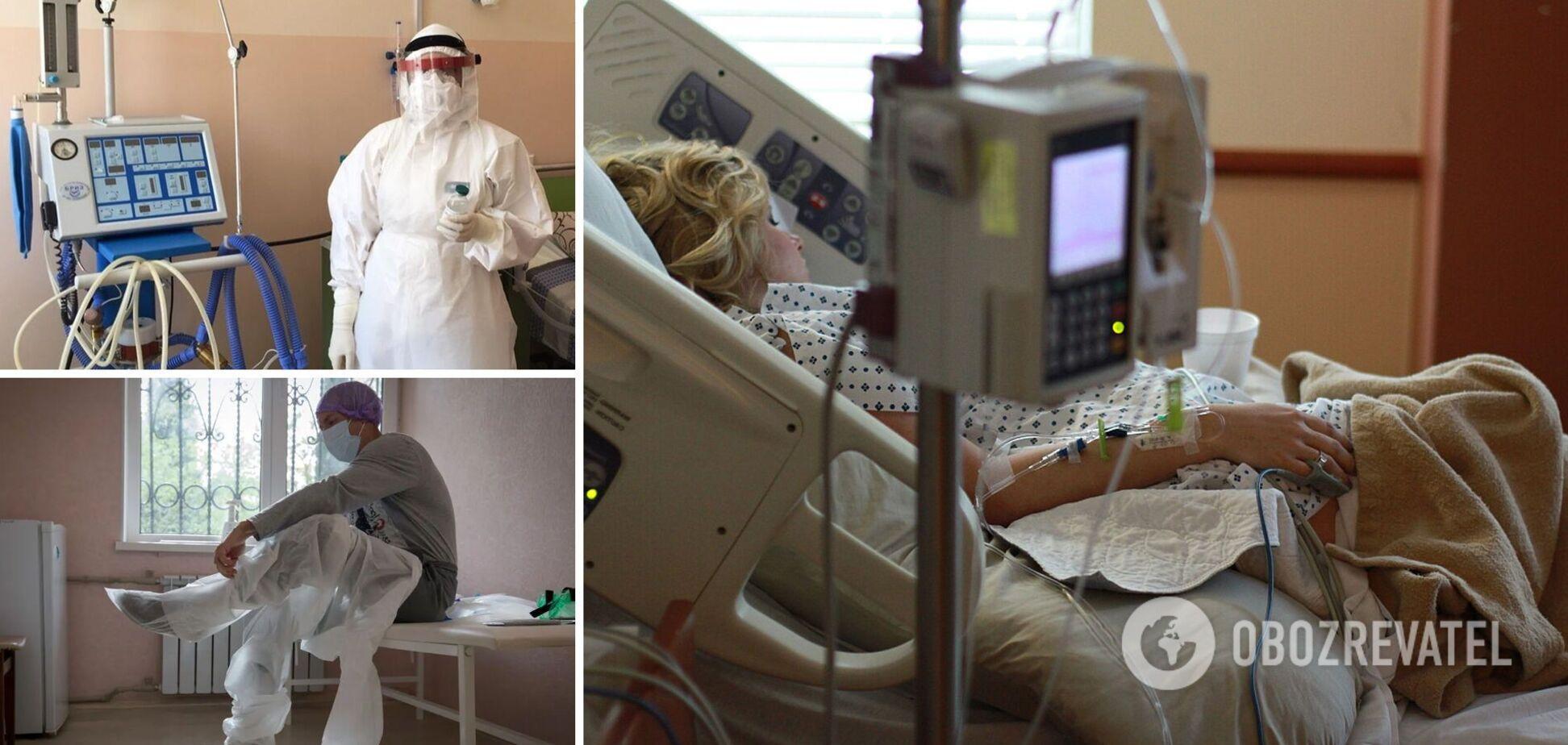После ИВЛ умирают 9 из 10 украинцев с COVID-19: врачи пояснили тревожную статистику