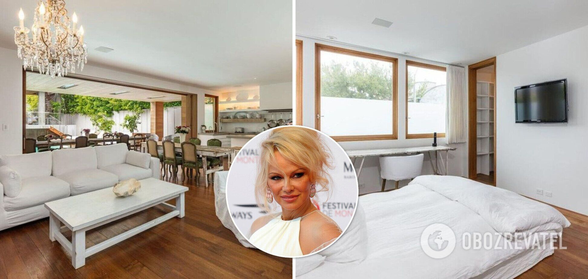 Памела Андерсон продає маєток майже за $15 млн: як він виглядає