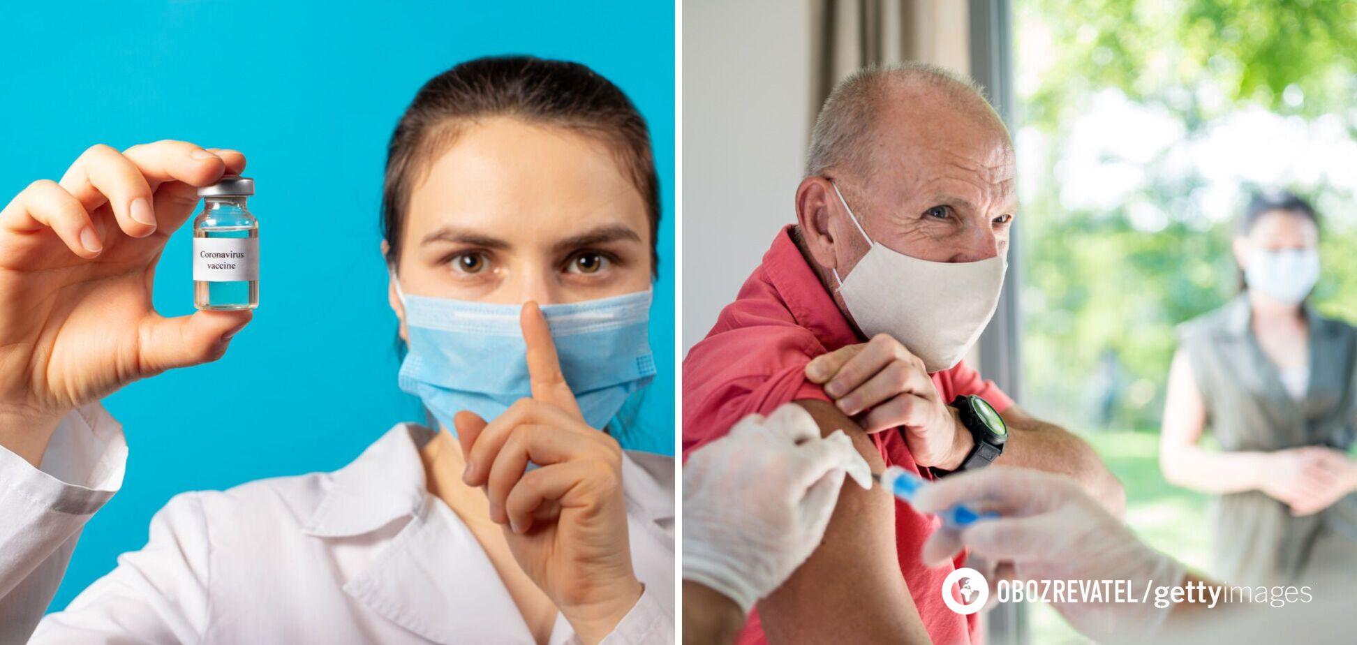 В Минздраве рассказали о побочных эффектах у вакцинированных украинцев