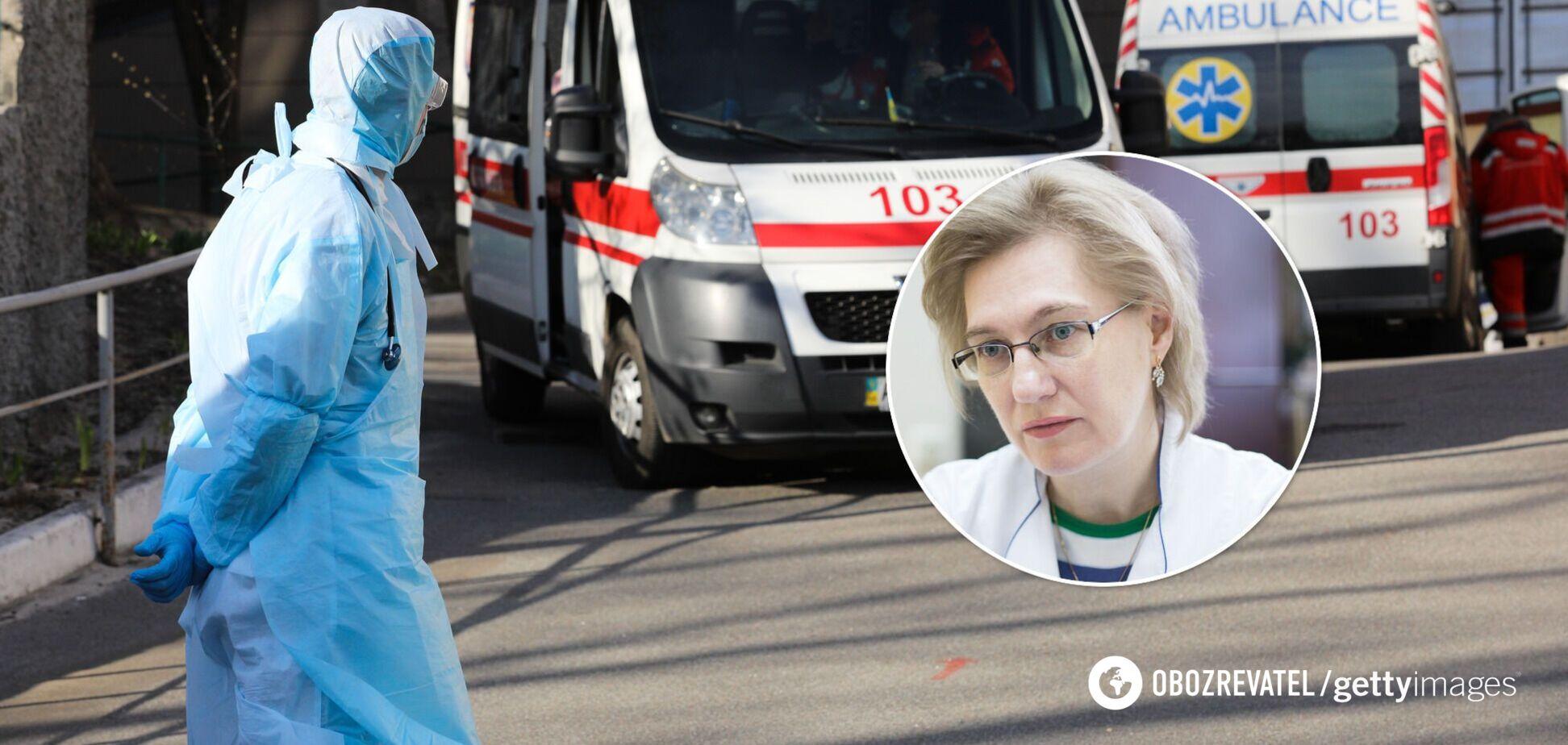 Ольга Голубовська розповіла, коли епідемія коронавірусу піде на спад