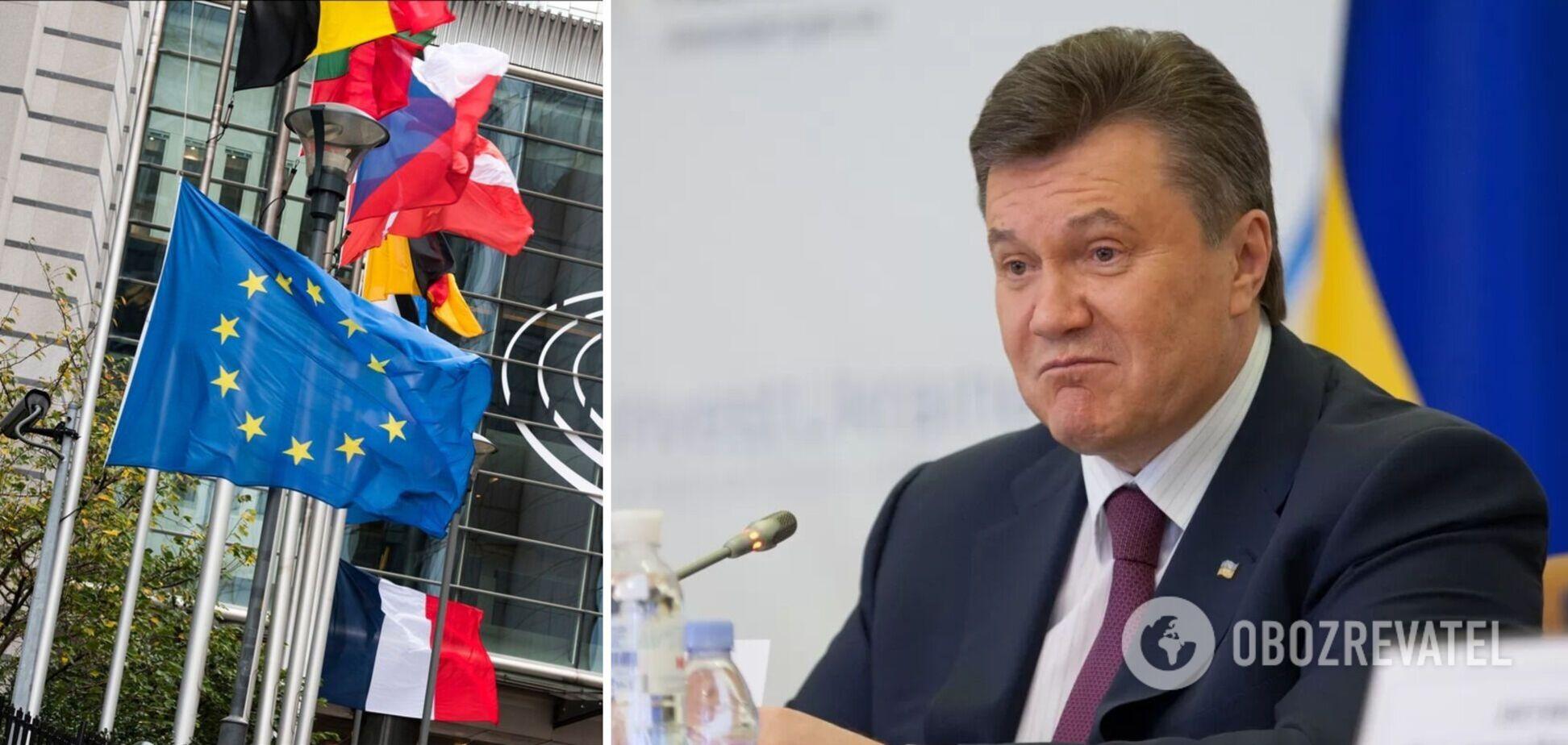 ЄС оприлюднив санкції проти Януковича та його оточення: з'явився повний список імен