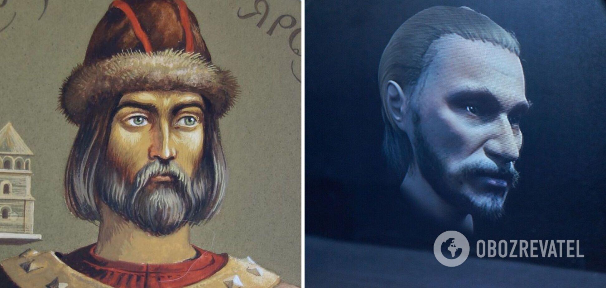 Справжнє обличчя Ярослава Мудрого – 3D-голограма