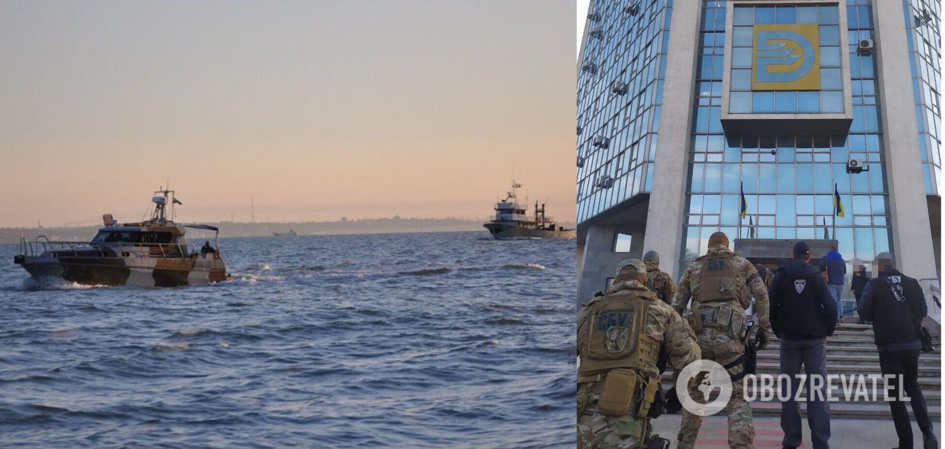 СБУ заблокувала незаконне виведення флоту з Дунайського пароплавства на 2 млрд грн