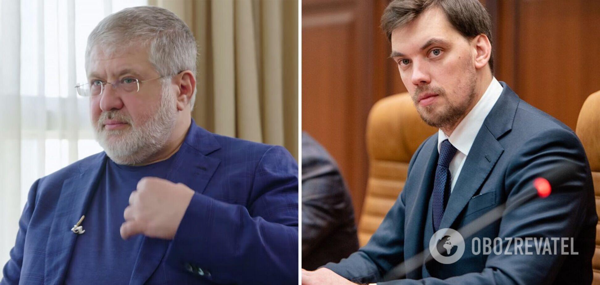 Гончарук зізнався, що його відставка пов'язана з Коломойським