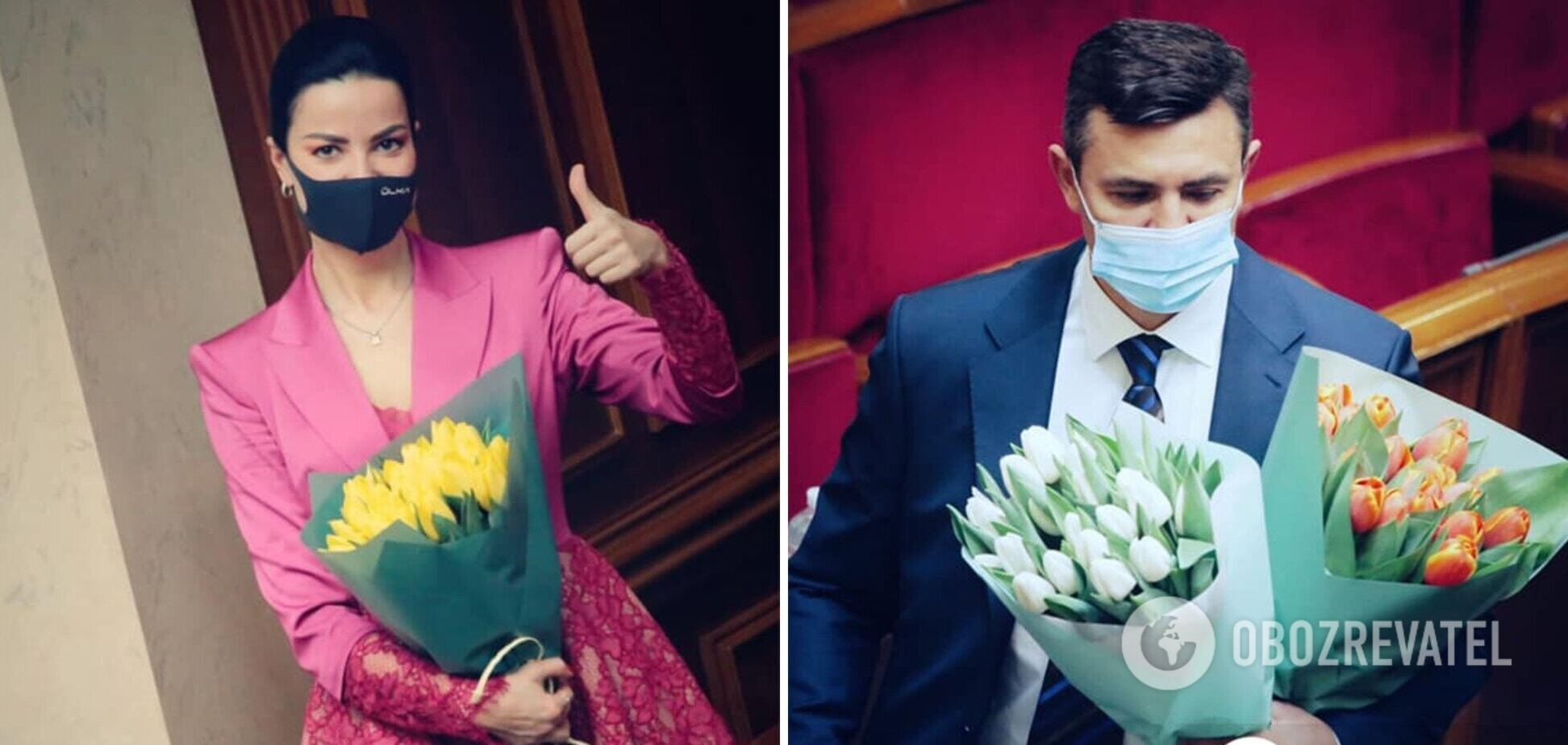 Оксана Дмитриева и Николай Тищенко